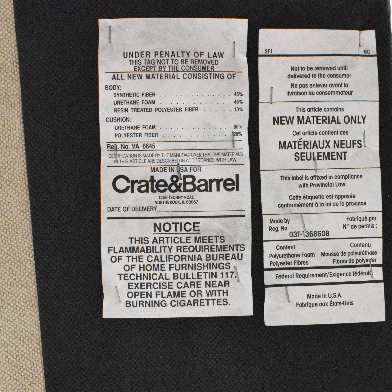 Crate & Barrel Crate & Barrel Colette Queen Upholstered Bed dimensions