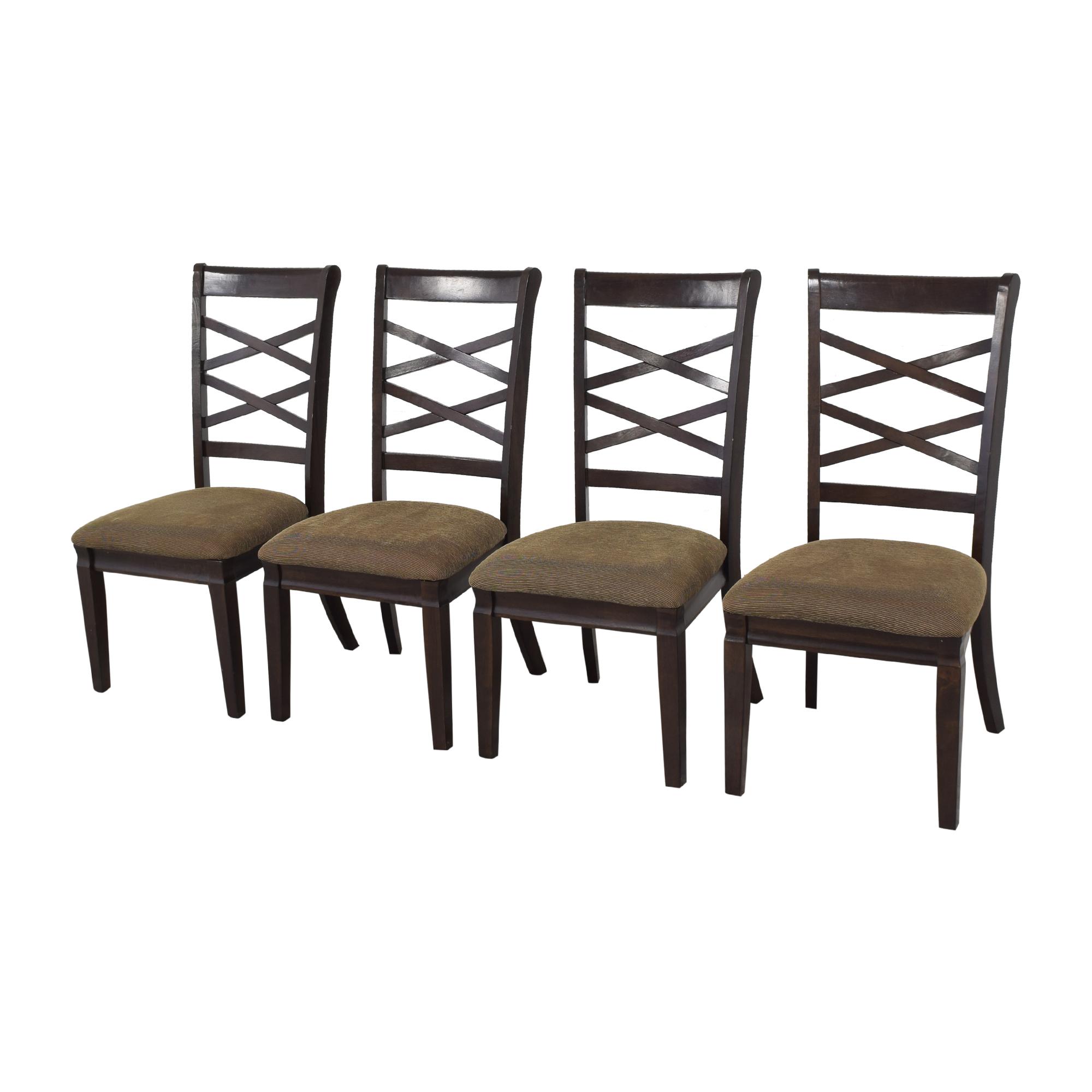 shop Ashley Furniture Hayley Dining Chairs  Ashley Furniture