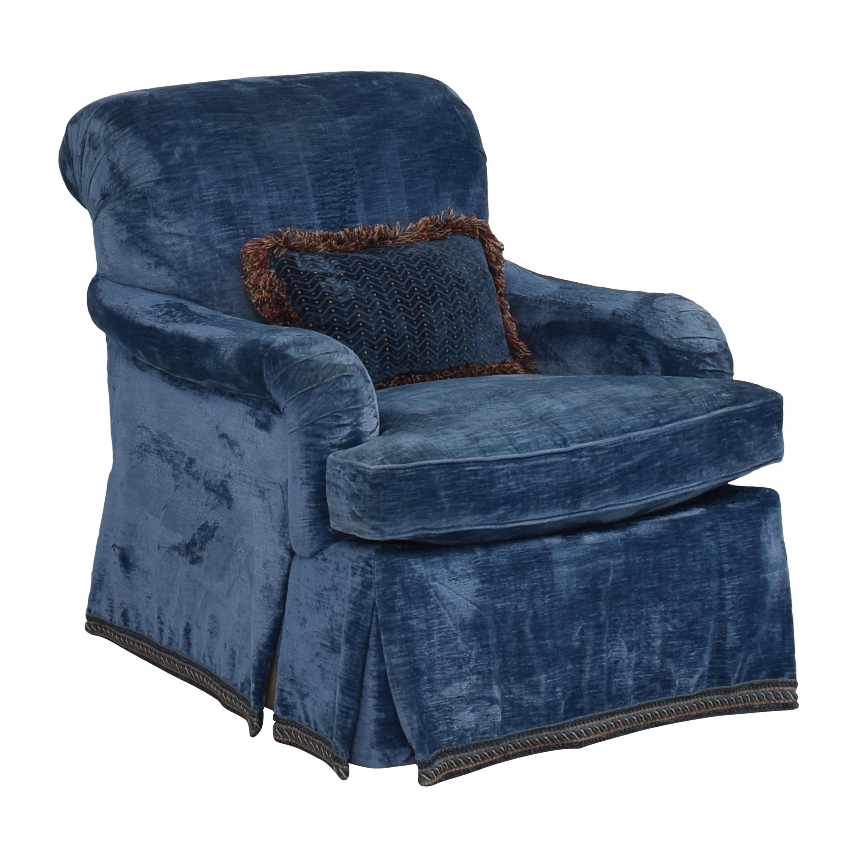 buy English Roll Arm Swivel Club Chair  Chairs