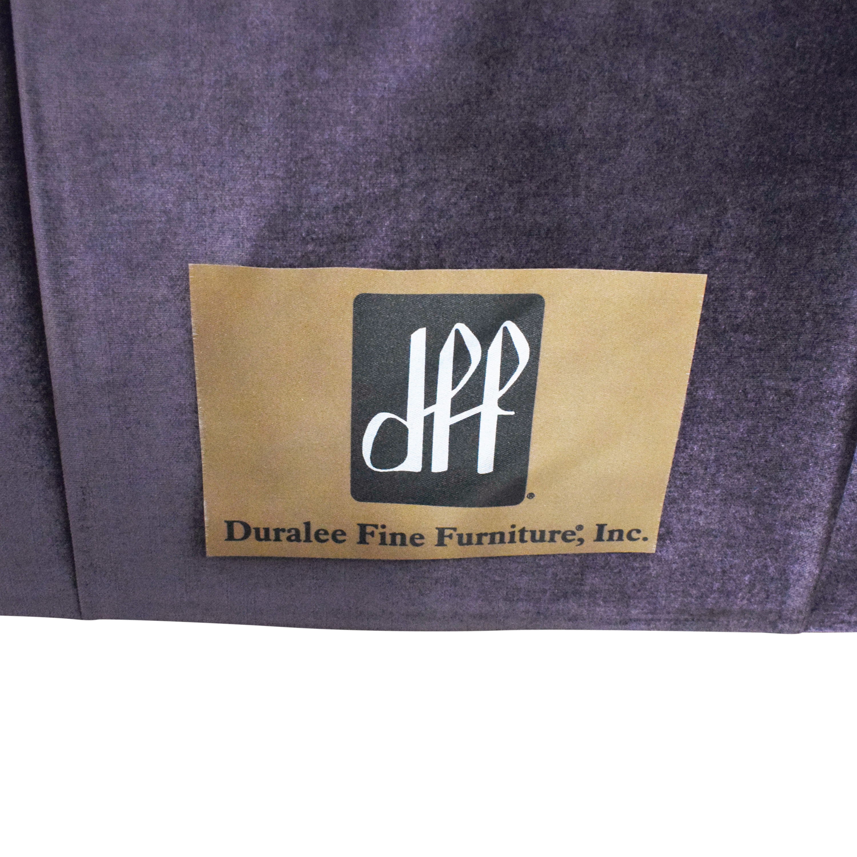 Duralee Duralee Custom Chesterfield Tufted Queen Bed discount