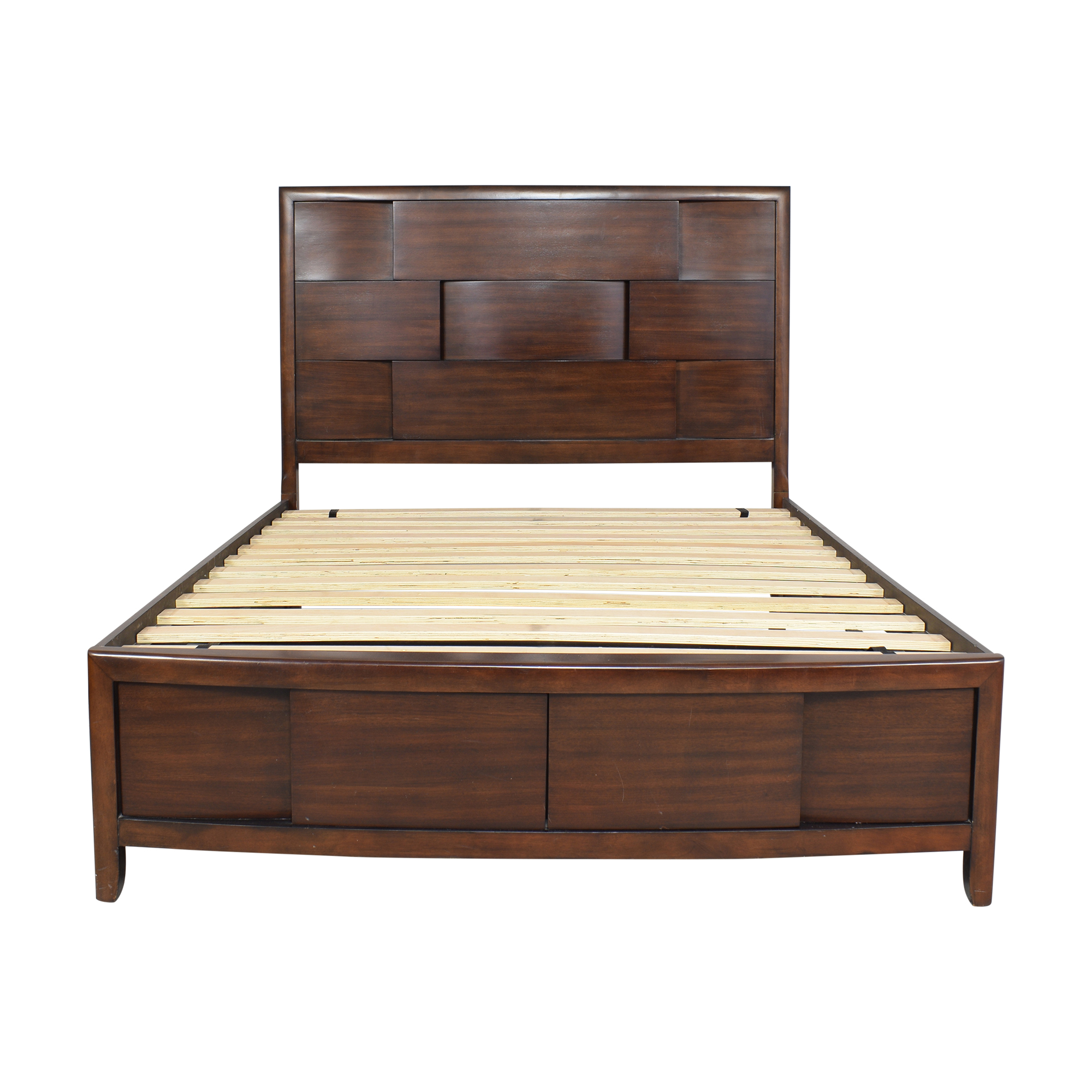 Raymour & Flanigan Raymour & Flanigan Queen Storage Bed Bed Frames