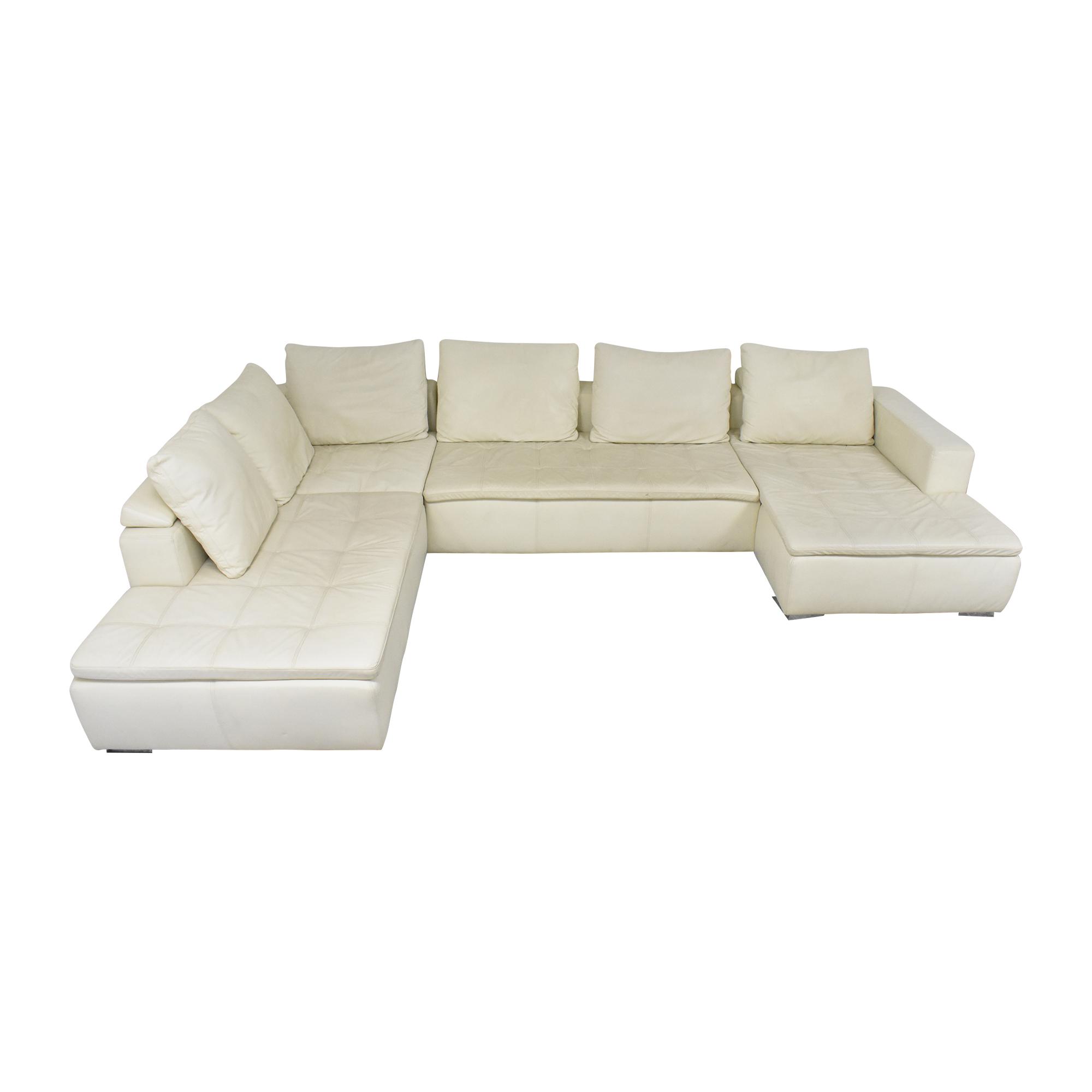 BoConcept BoConcept Mezzo Sectional Sofa white