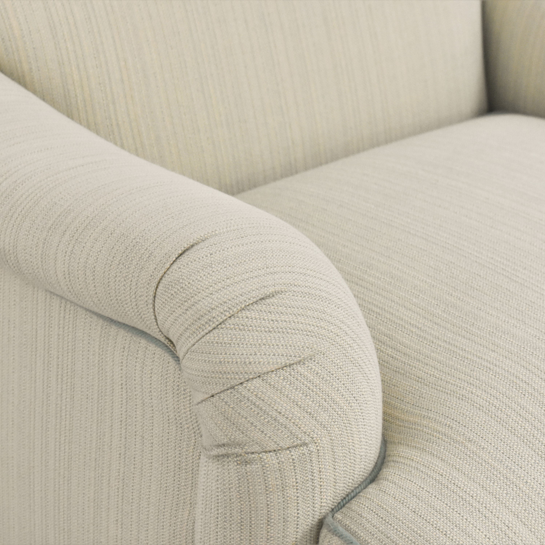 buy Custom Club Chair with Ottoman