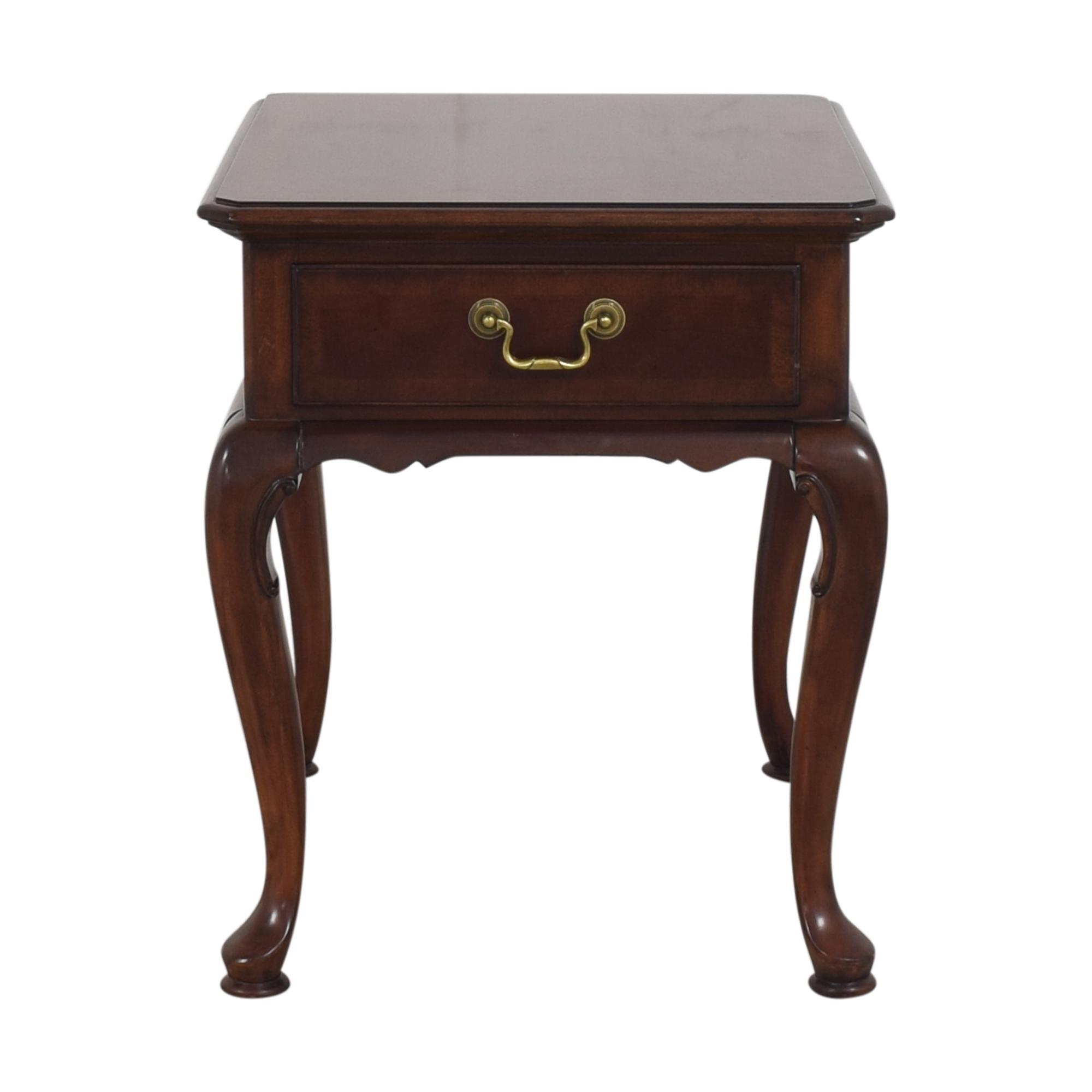shop Fine Furniture Design One Drawer End Table Fine Furniture Design Tables