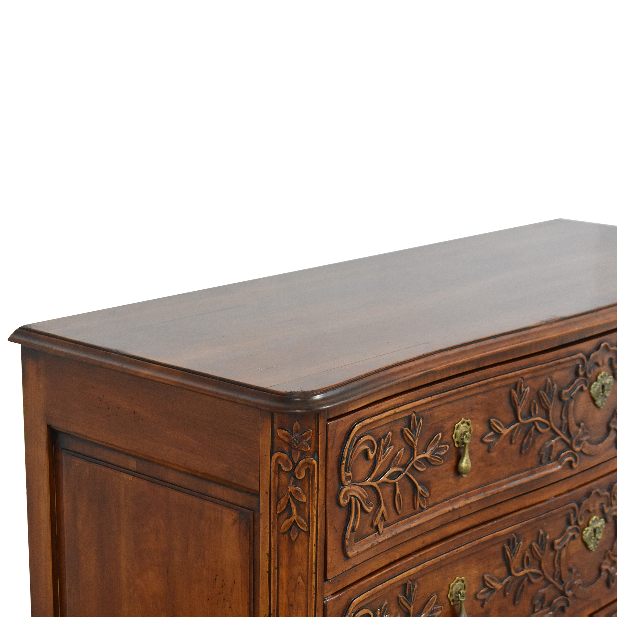 French-Style Three Drawer Chest nj