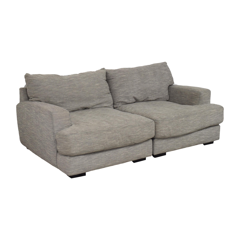 Raymour & Flanigan Raymour & Flanigan Leighton Sectional Sofa price