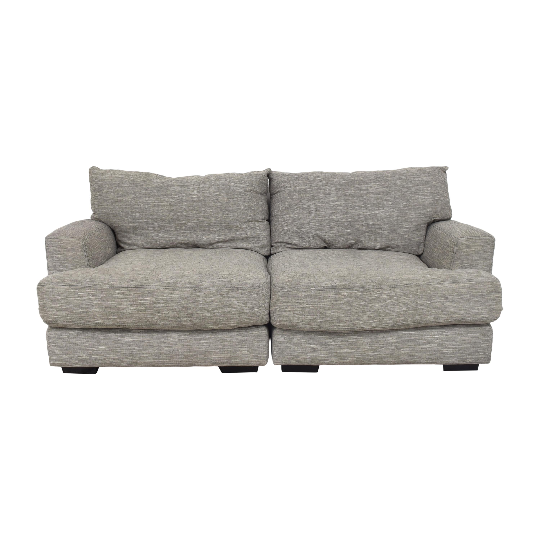 Raymour & Flanigan Raymour & Flanigan Leighton Sectional Sofa nj