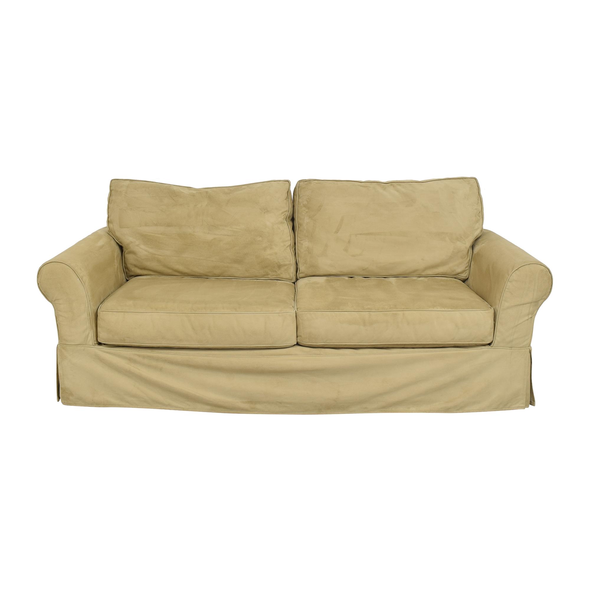 Pottery Barn Pottery Barn Comfort Roll Arm Slipcovered Sofa