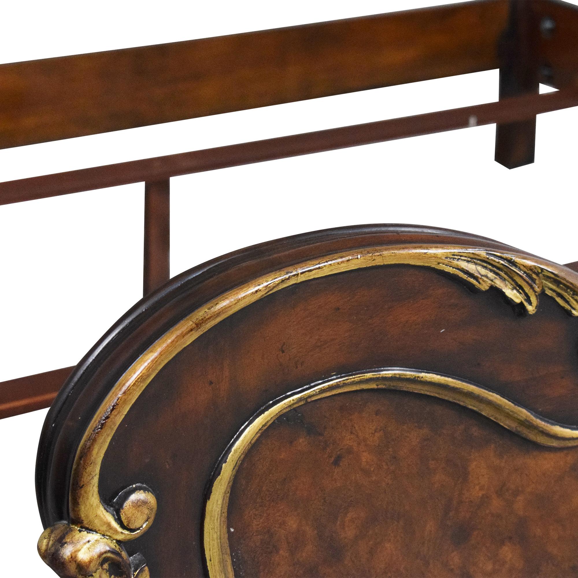 Henredon Furniture Arabesque King Bed / Bed Frames