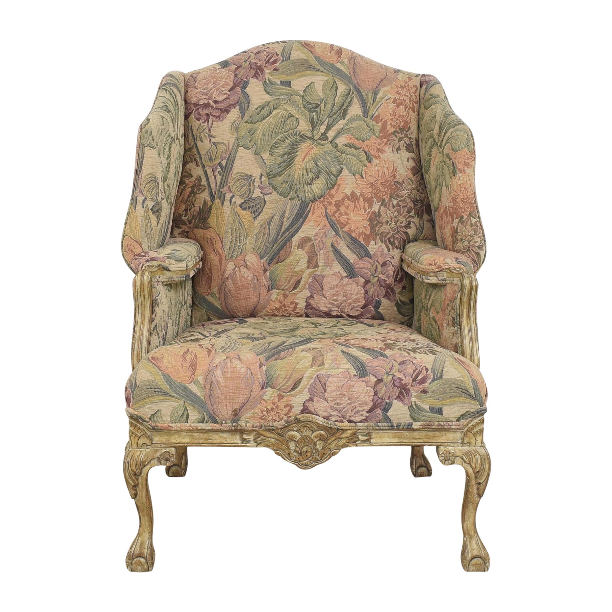 Safavieh Safavieh Carved Trim Accent Chair coupon