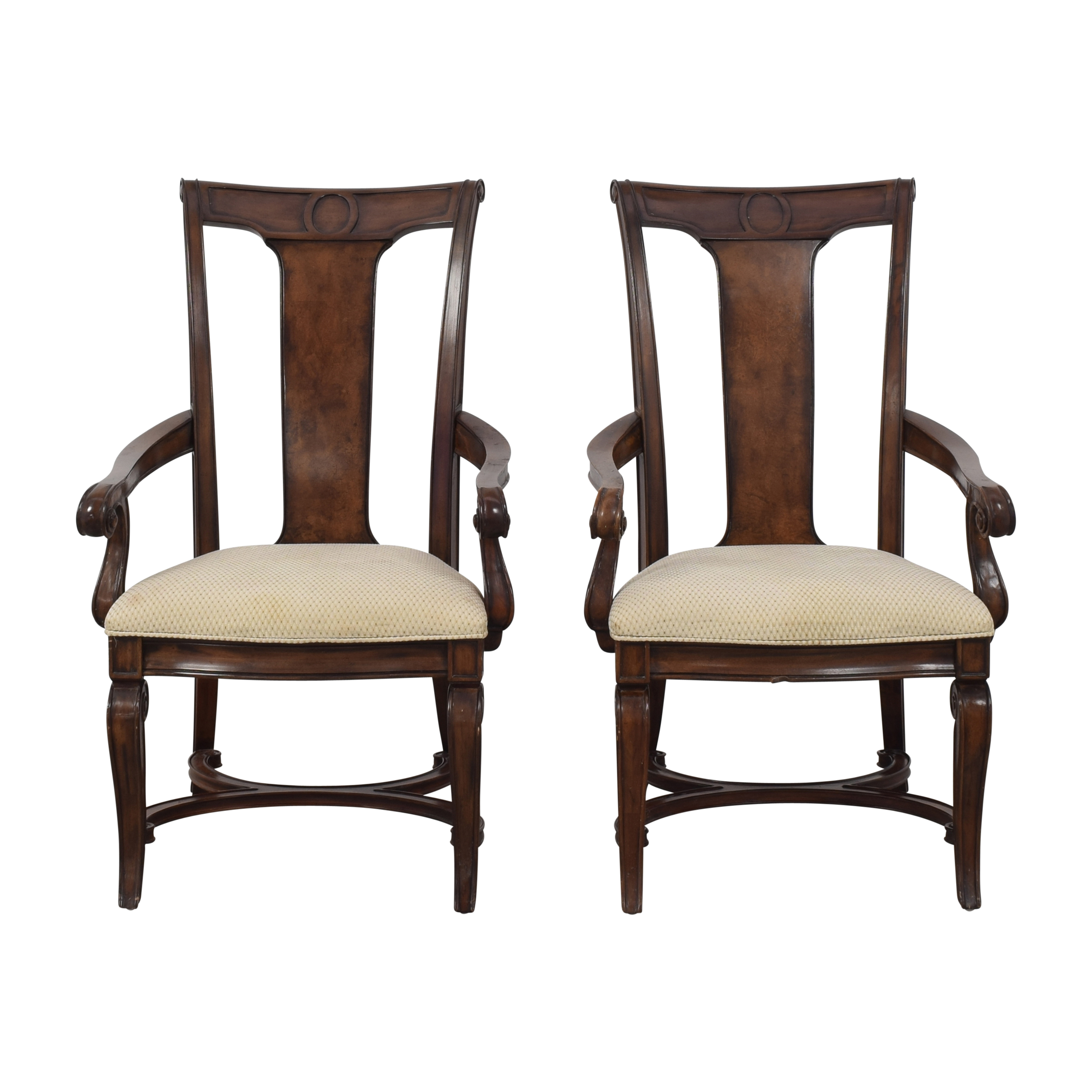 Thomasville Thompsonville Dining Arm Chairs used