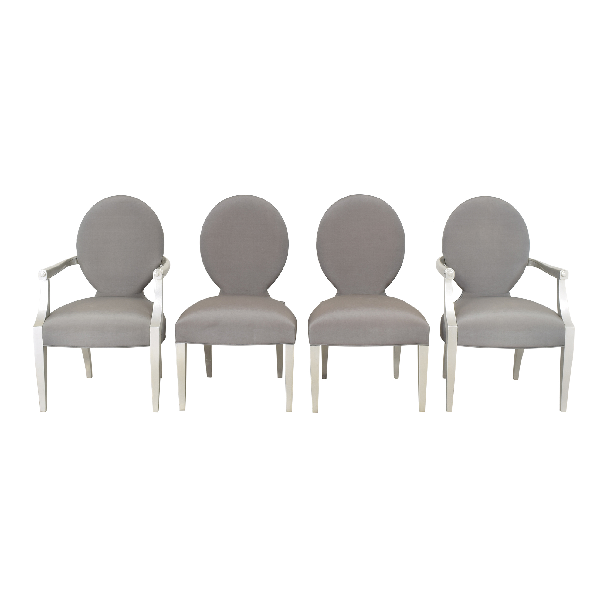 Oval Back Dining Chairs second hand