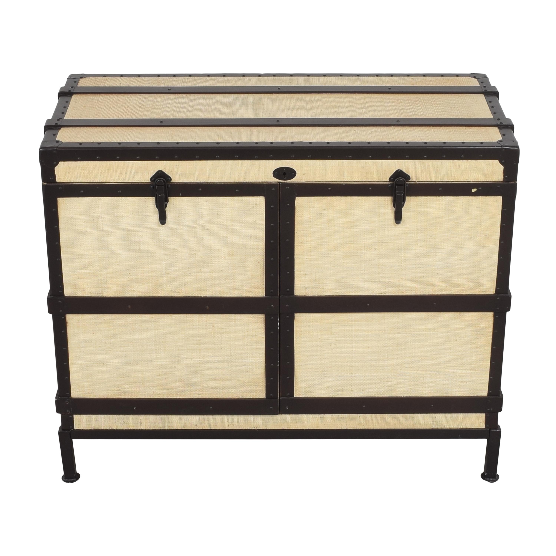 shop Pottery Barn Pottery Barn Ludlow Trunk Bar Cabinet online