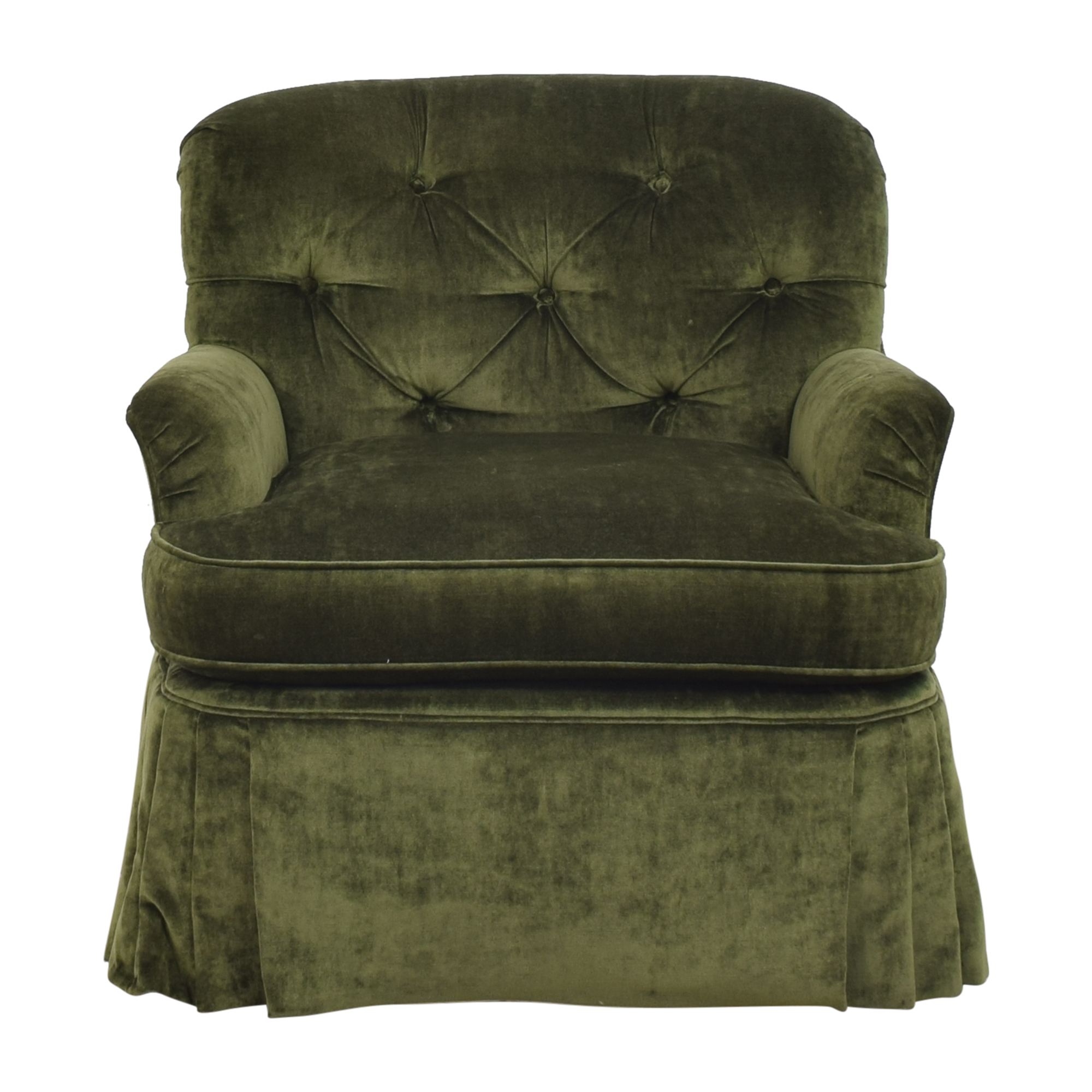 Calico Calico Corners Brandy Wine Design Accent Chair Green