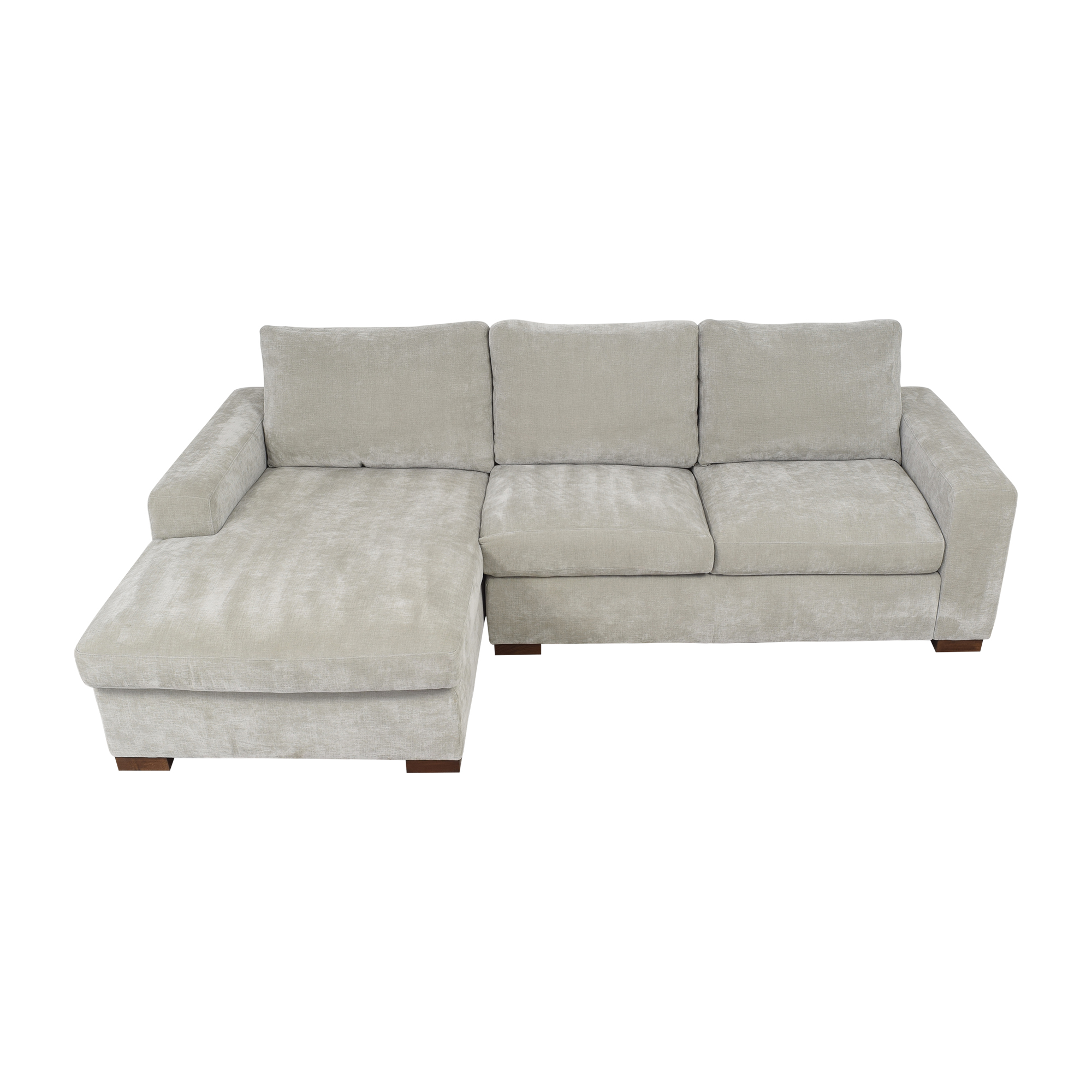 shop BenchMade Modern Couch Potato Sofa With Chaise BenchMade Modern Sofas