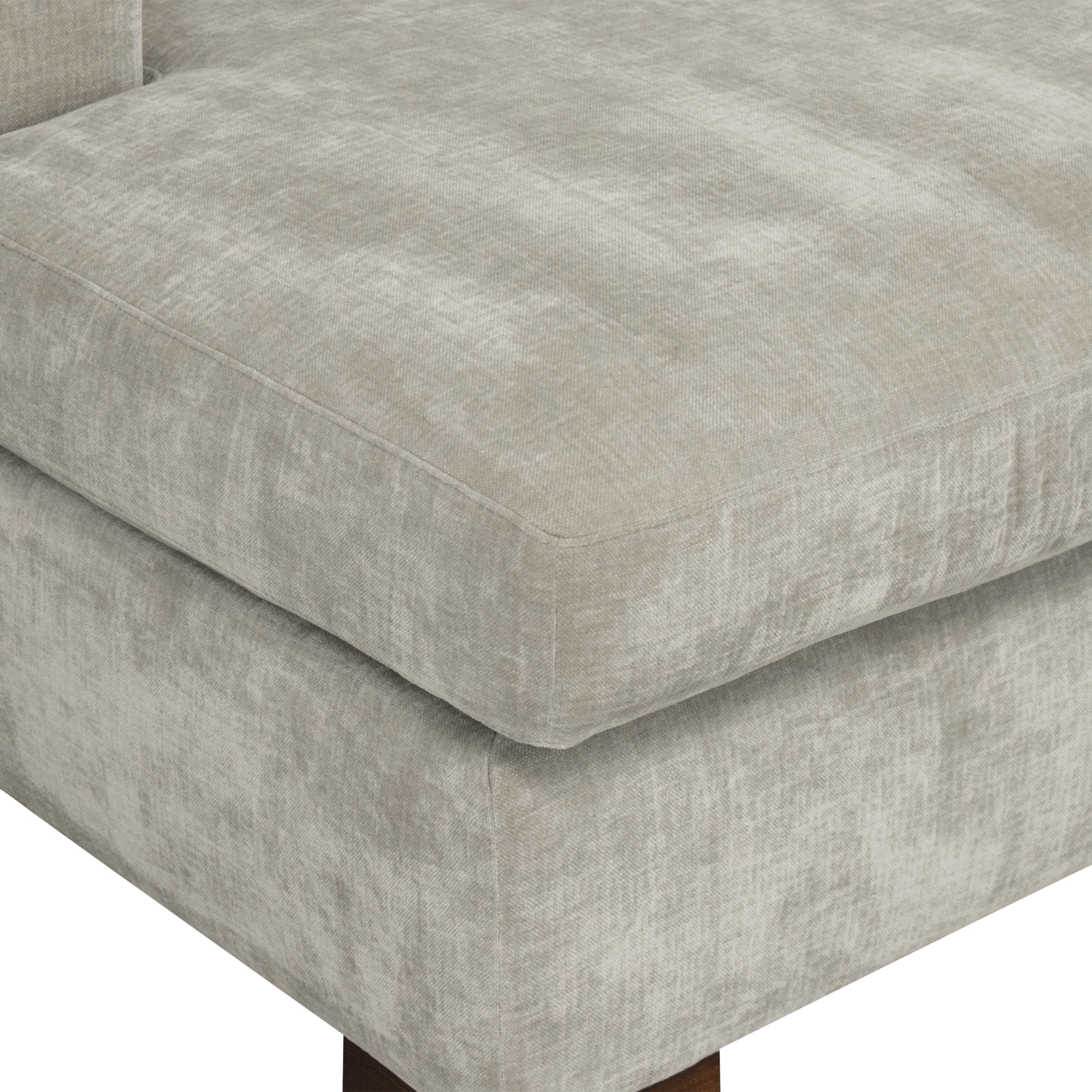 buy BenchMade Modern Couch Potato Sofa With Chaise BenchMade Modern Sofas