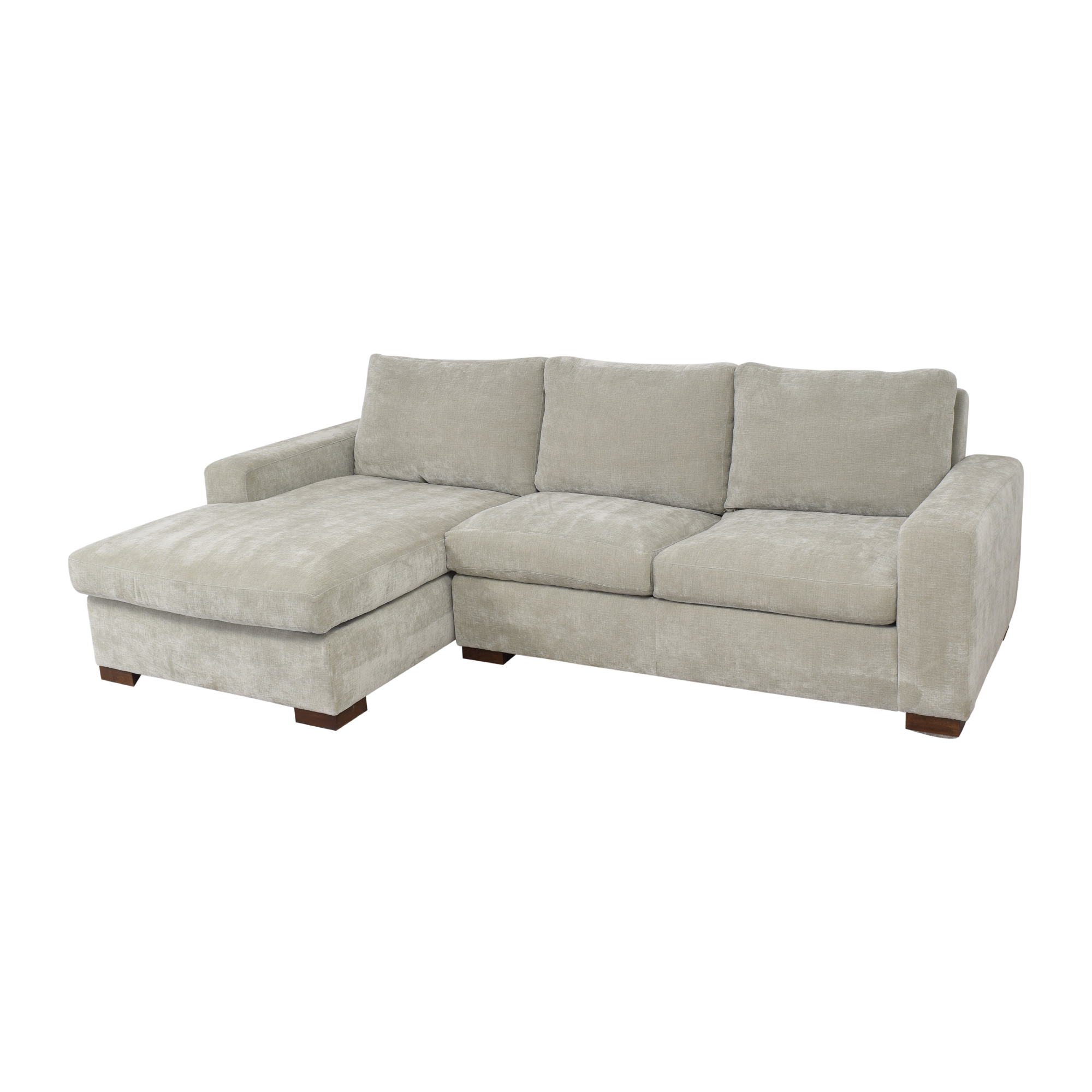 BenchMade Modern Couch Potato Sofa With Chaise BenchMade Modern