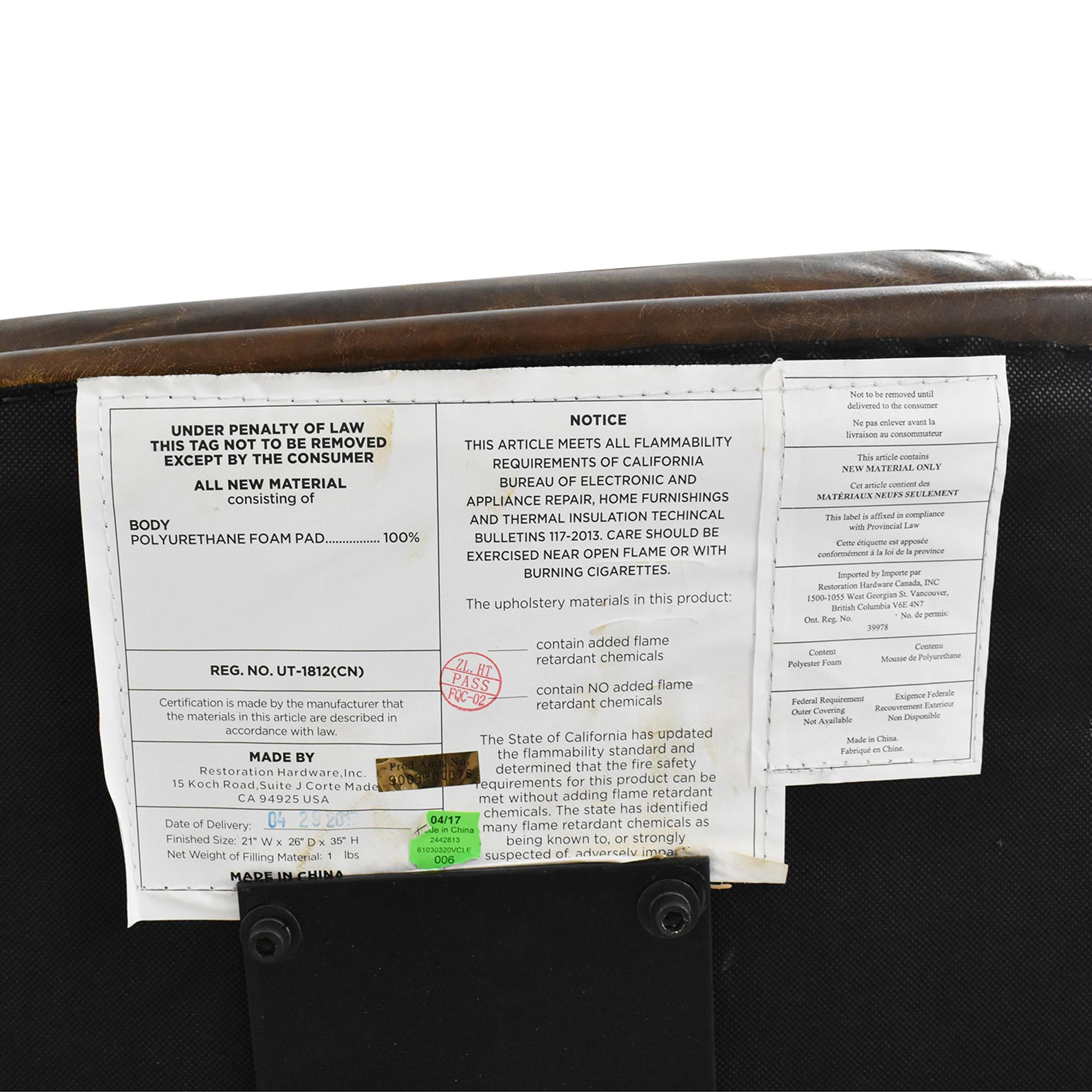 buy Restoration Hardware Griffith Desk Chair  Restoration Hardware
