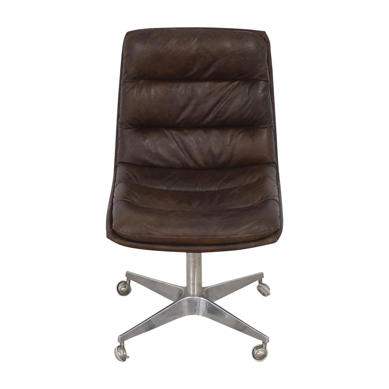 buy Restoration Hardware Griffith Desk Chair Restoration Hardware Chairs