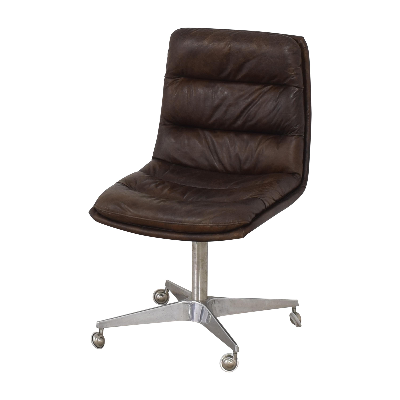 shop Restoration Hardware Griffith Desk Chair Restoration Hardware Home Office Chairs
