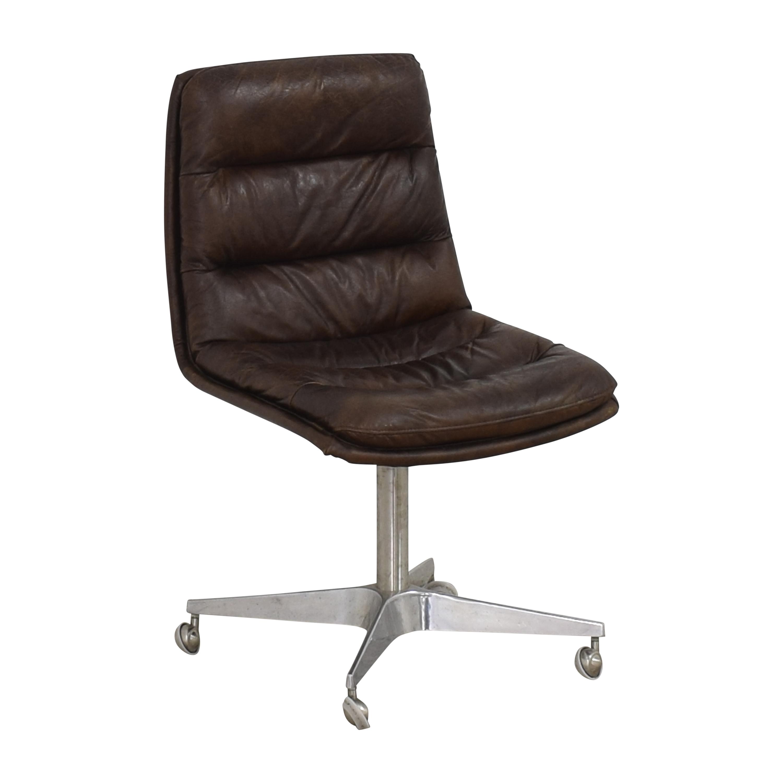 Restoration Hardware Restoration Hardware Griffith Desk Chair dimensions