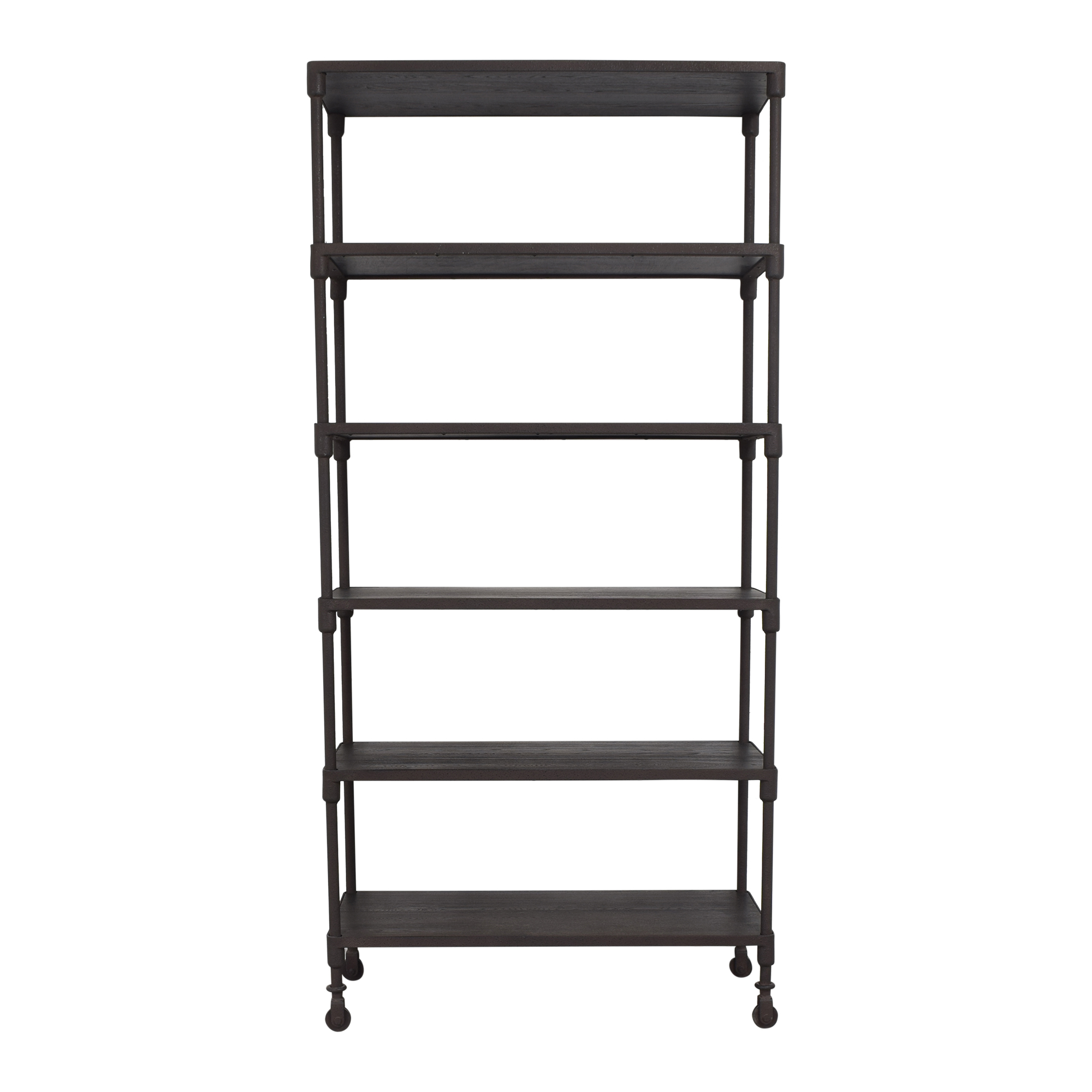 Restoration Hardware Restoration Hardware Dutch Industrial Single Bookcase second hand
