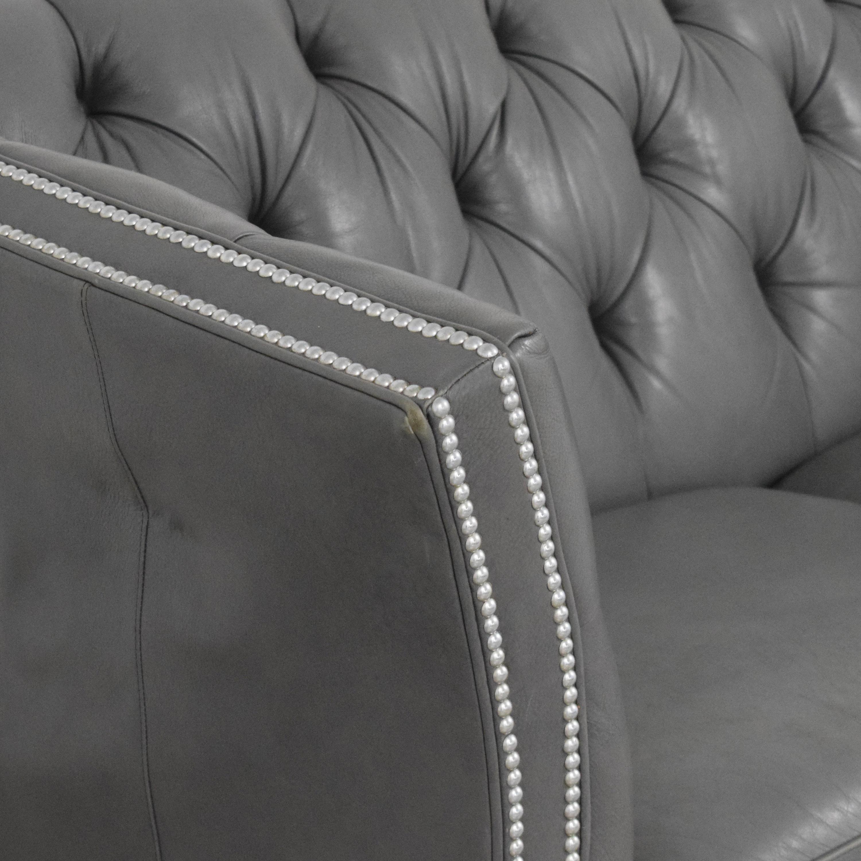 Ethan Allen Shelton Sofa with Nailhead Trim / Classic Sofas