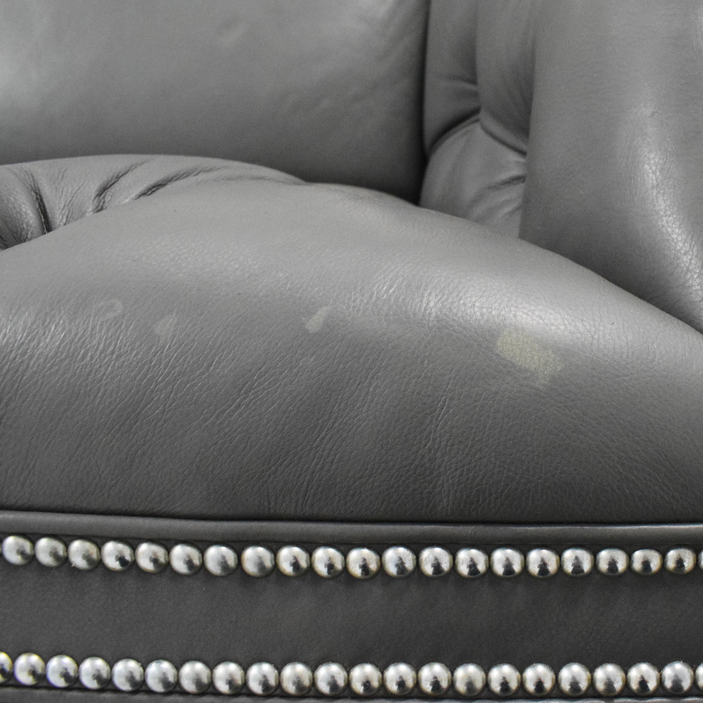 buy Ethan Allen Shelton Sofa with Nailhead Trim Ethan Allen Classic Sofas
