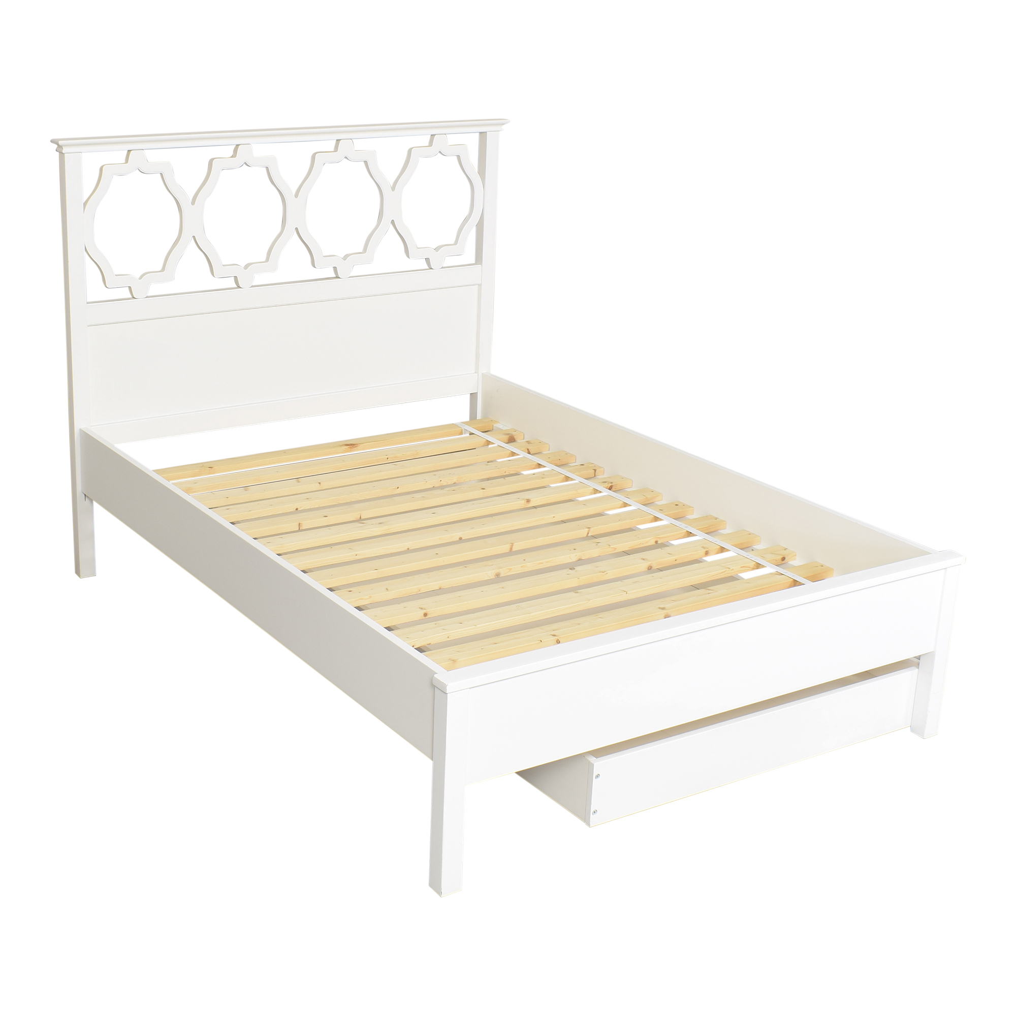 buy Pottery Barn Teen Elsie Full Bed with Trundle Pottery Barn Teen