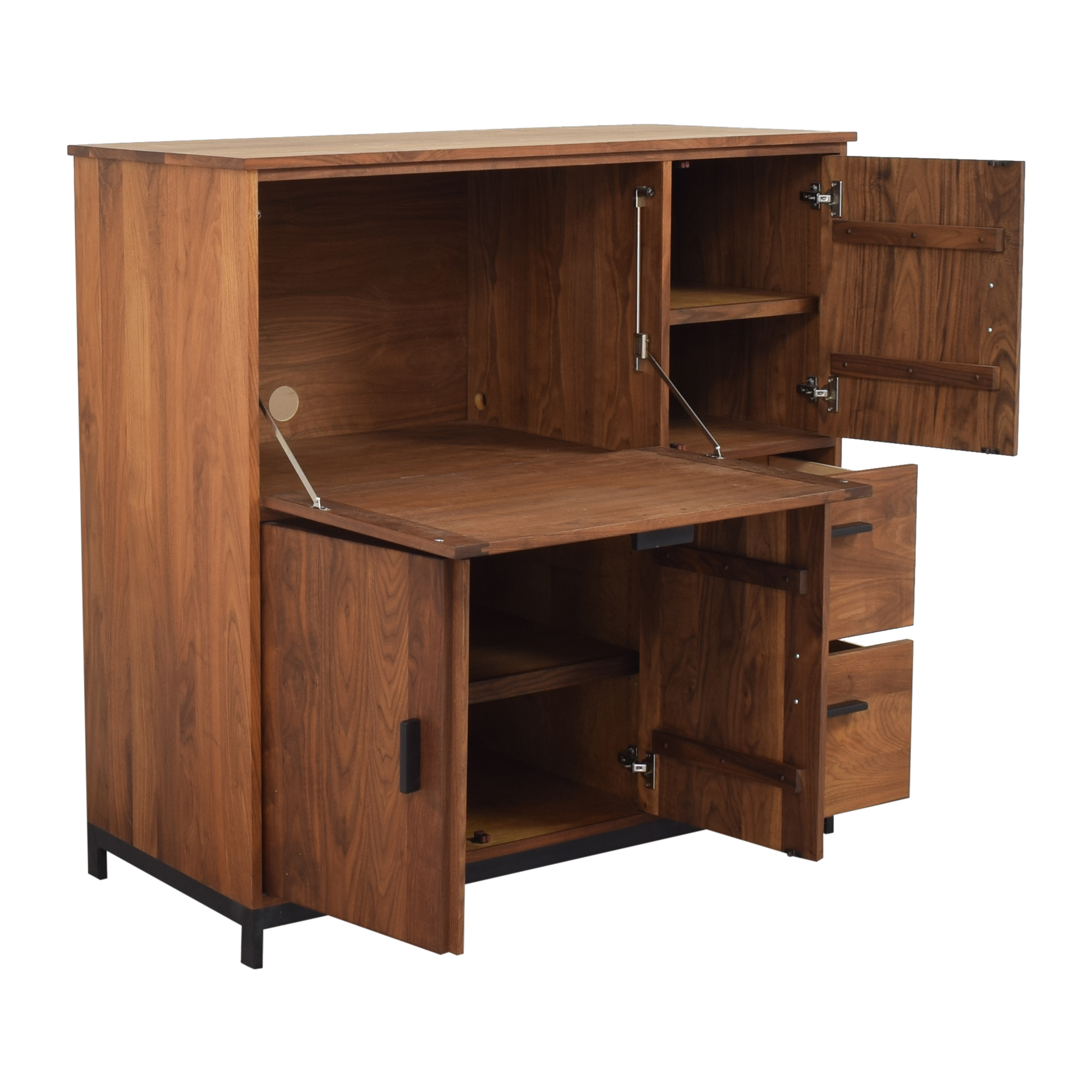 Room & Board Room & Board Linear Office Armoire with Two File Drawers for sale
