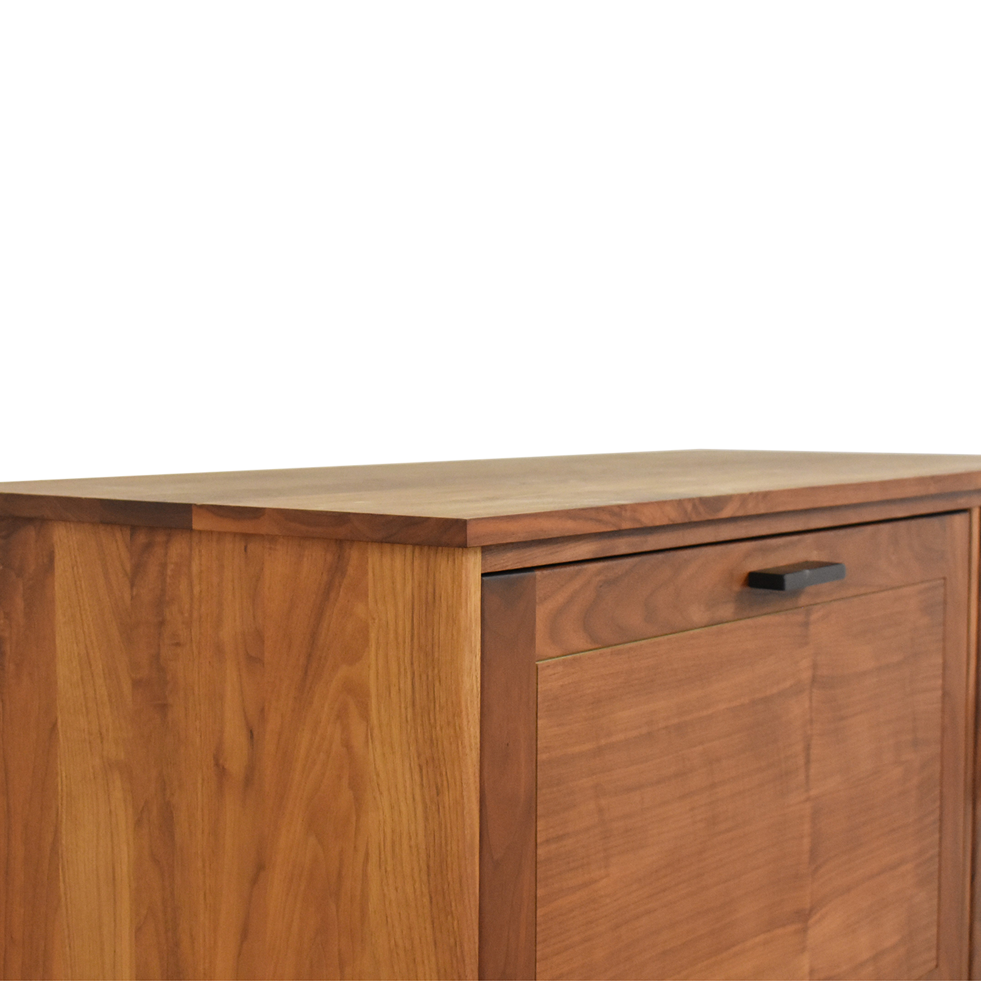 Room & Board Linear Office Armoire with Two File Drawers / Tables