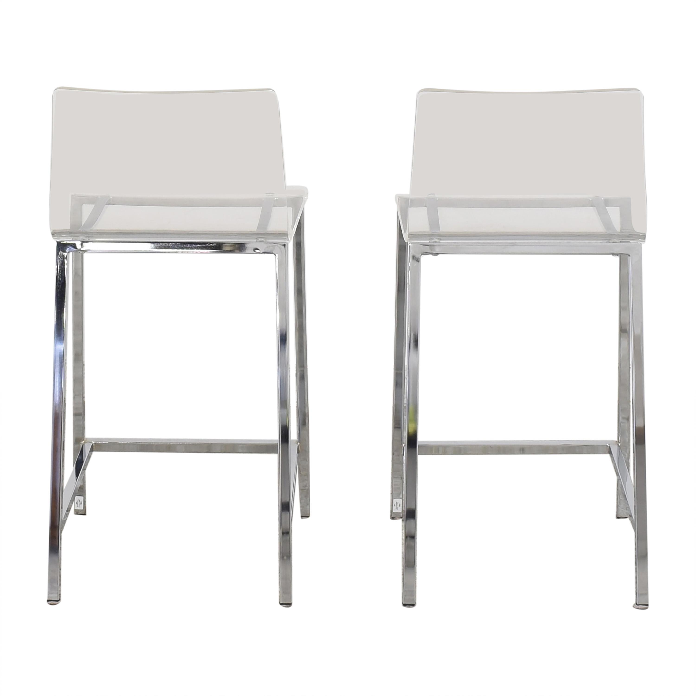buy CB2 Vapor Counter Stools CB2 Chairs