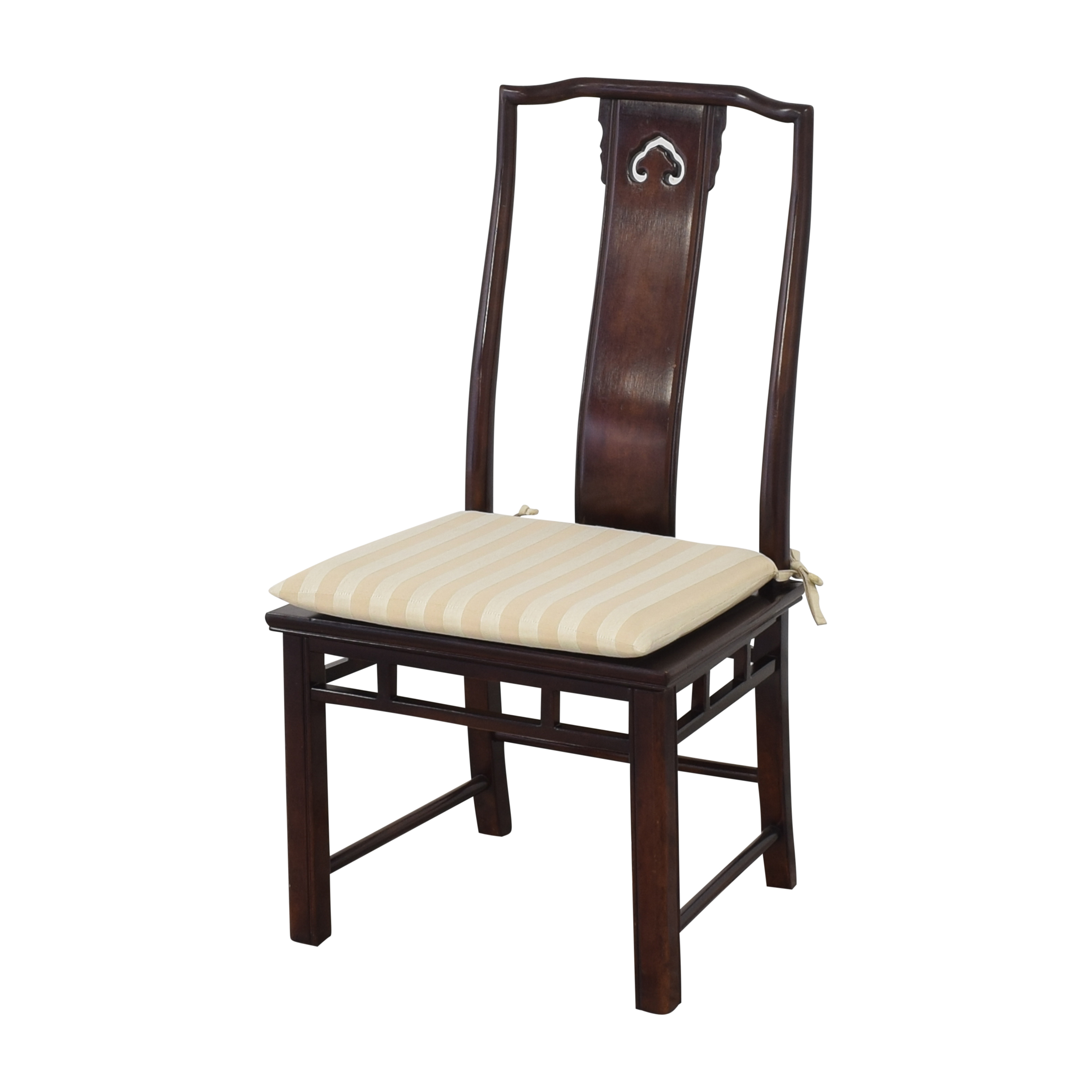 White Fine Furniture White Fine Furniture Chinoiserie Dining Chairs on sale