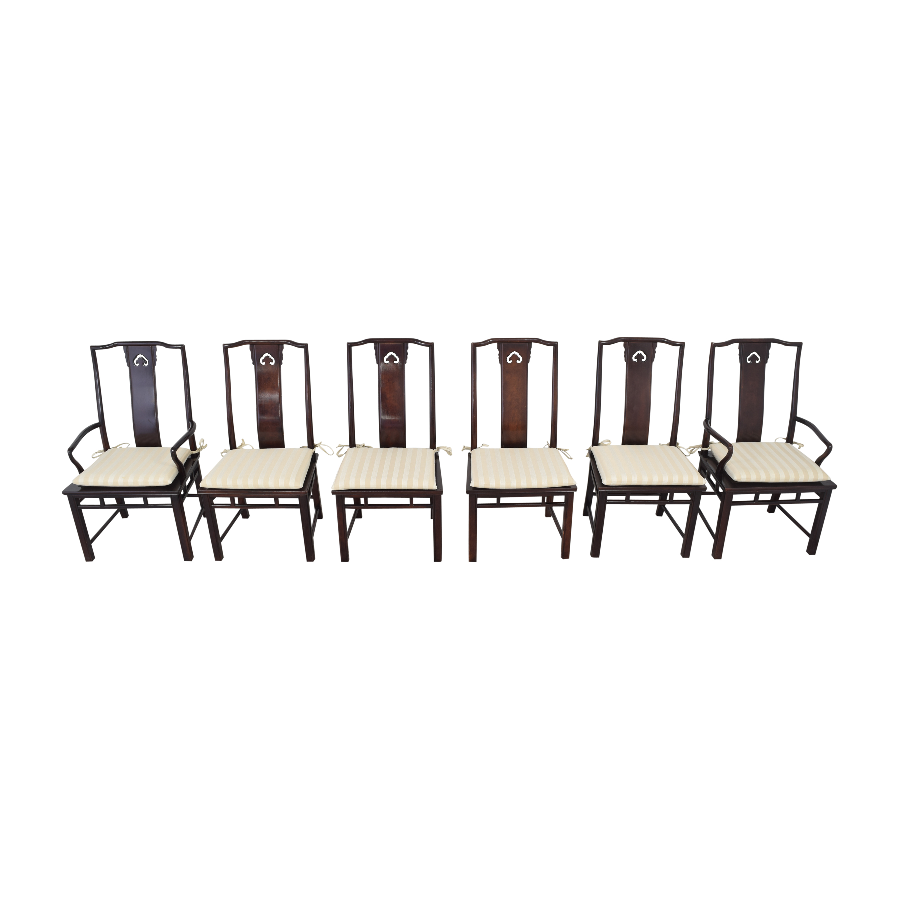shop White Fine Furniture Chinoiserie Dining Chairs White Fine Furniture Chairs