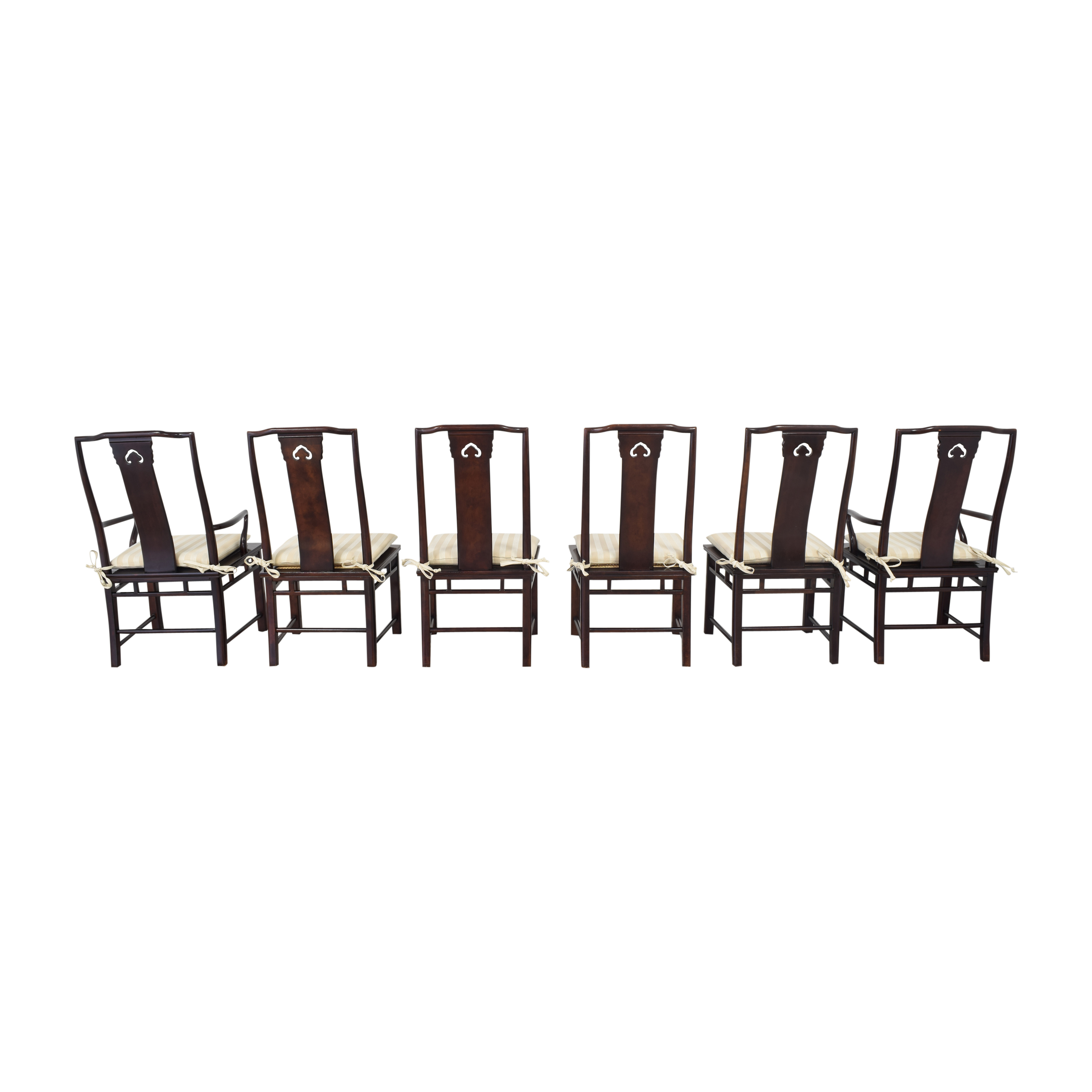 buy White Fine Furniture Chinoiserie Dining Chairs White Fine Furniture Chairs