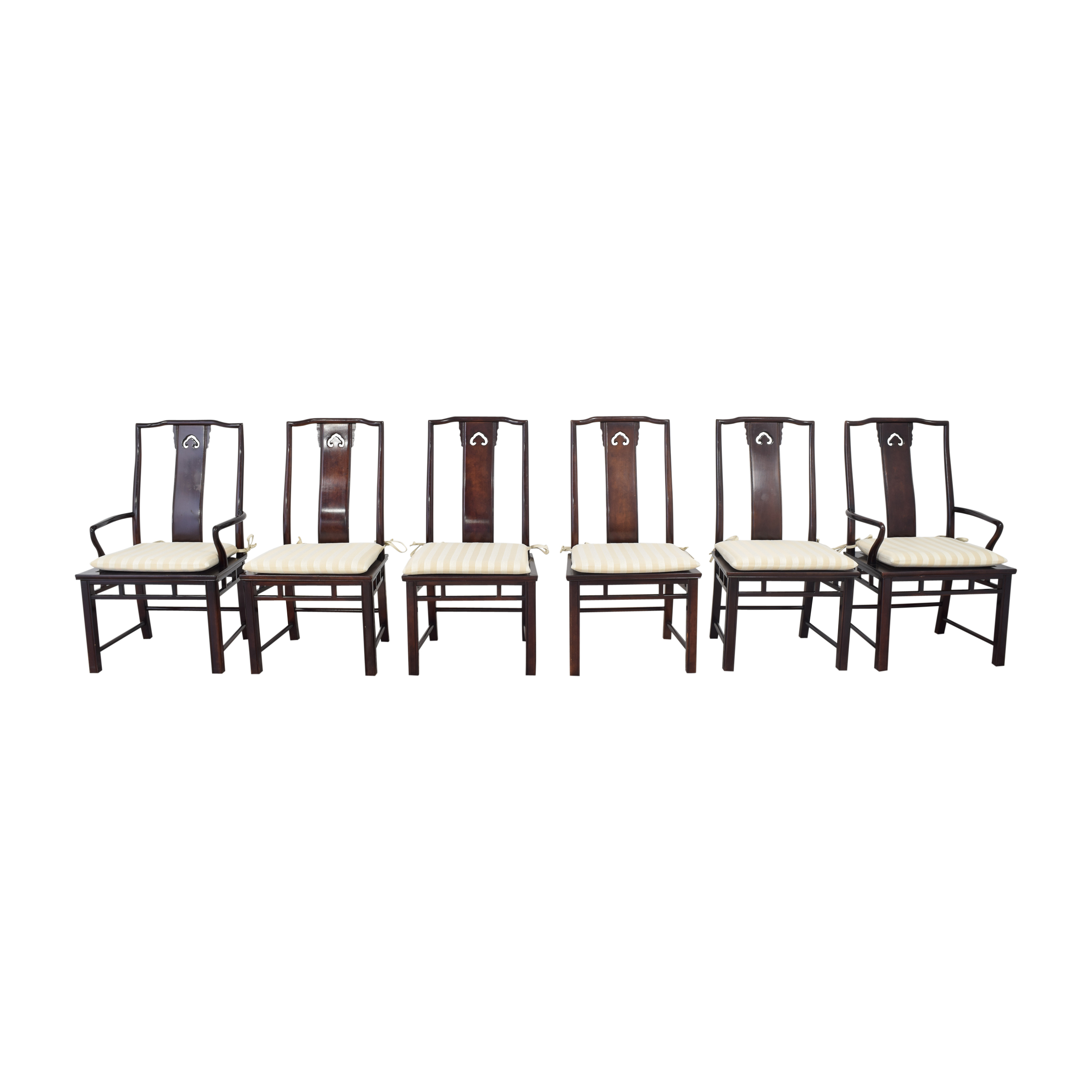 buy White Fine Furniture White Fine Furniture Chinoiserie Dining Chairs online