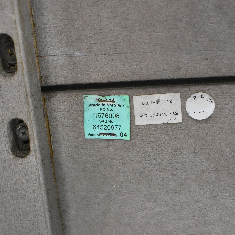 Restoration Hardware Restoration Hardware Reclaimed Russian Oak Parsons Side Table