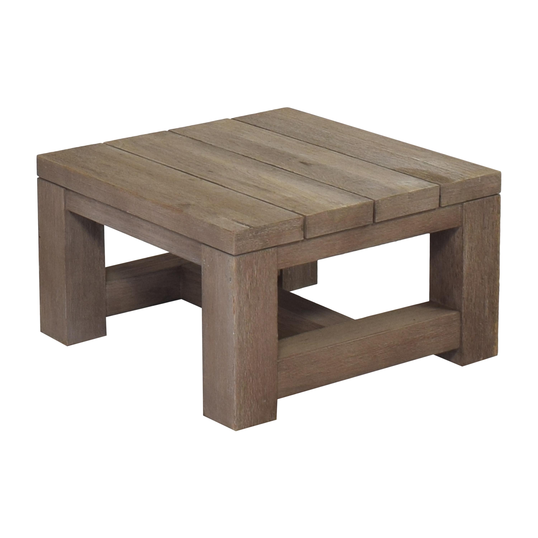 buy Restoration Hardware Restoration Hardware Reclaimed Russian Oak Parsons Side Table online
