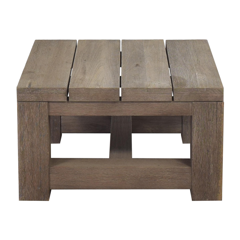 buy Restoration Hardware Reclaimed Russian Oak Parsons Side Table Restoration Hardware Tables