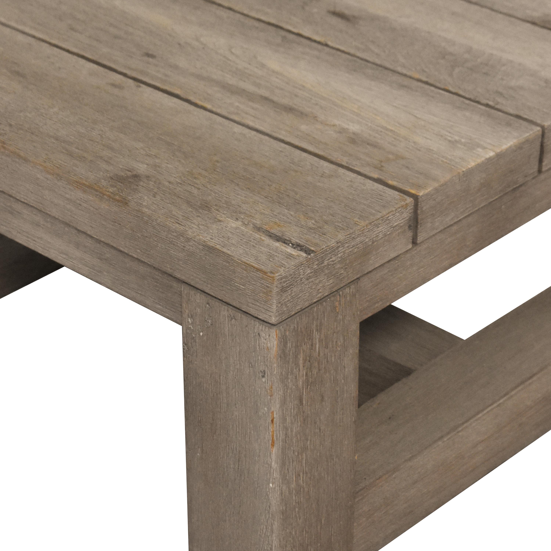 shop Restoration Hardware Reclaimed Russian Oak Parsons Side Table Restoration Hardware Tables