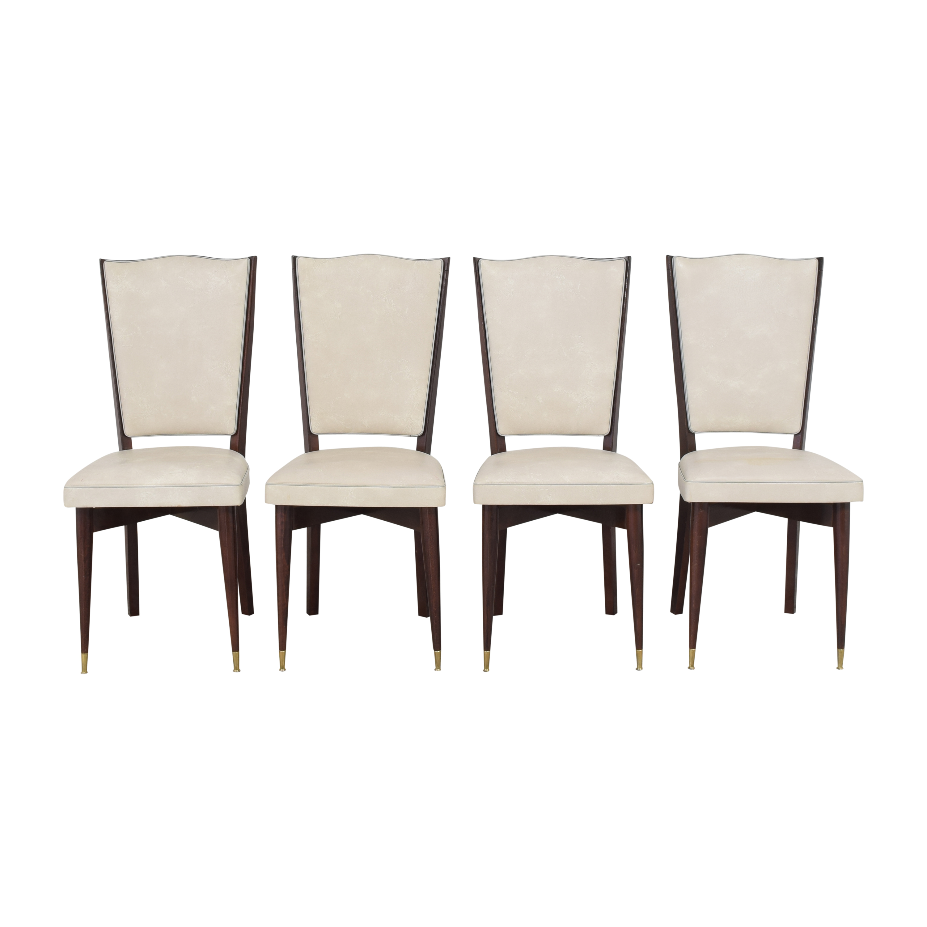 Art Deco-Style Dining Chairs second hand