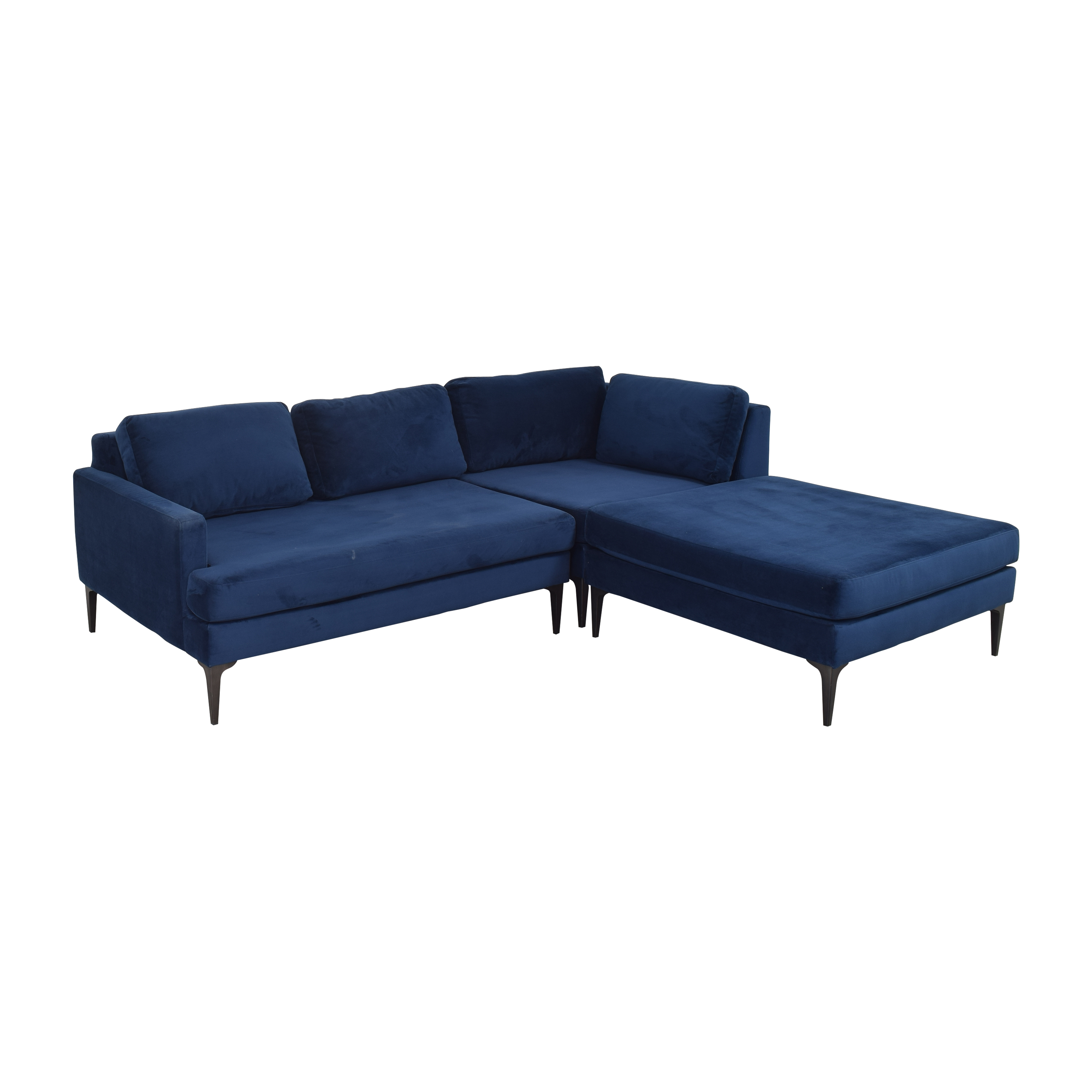 West Elm West Elm Andes 3-Piece Chaise Sectional Sectionals