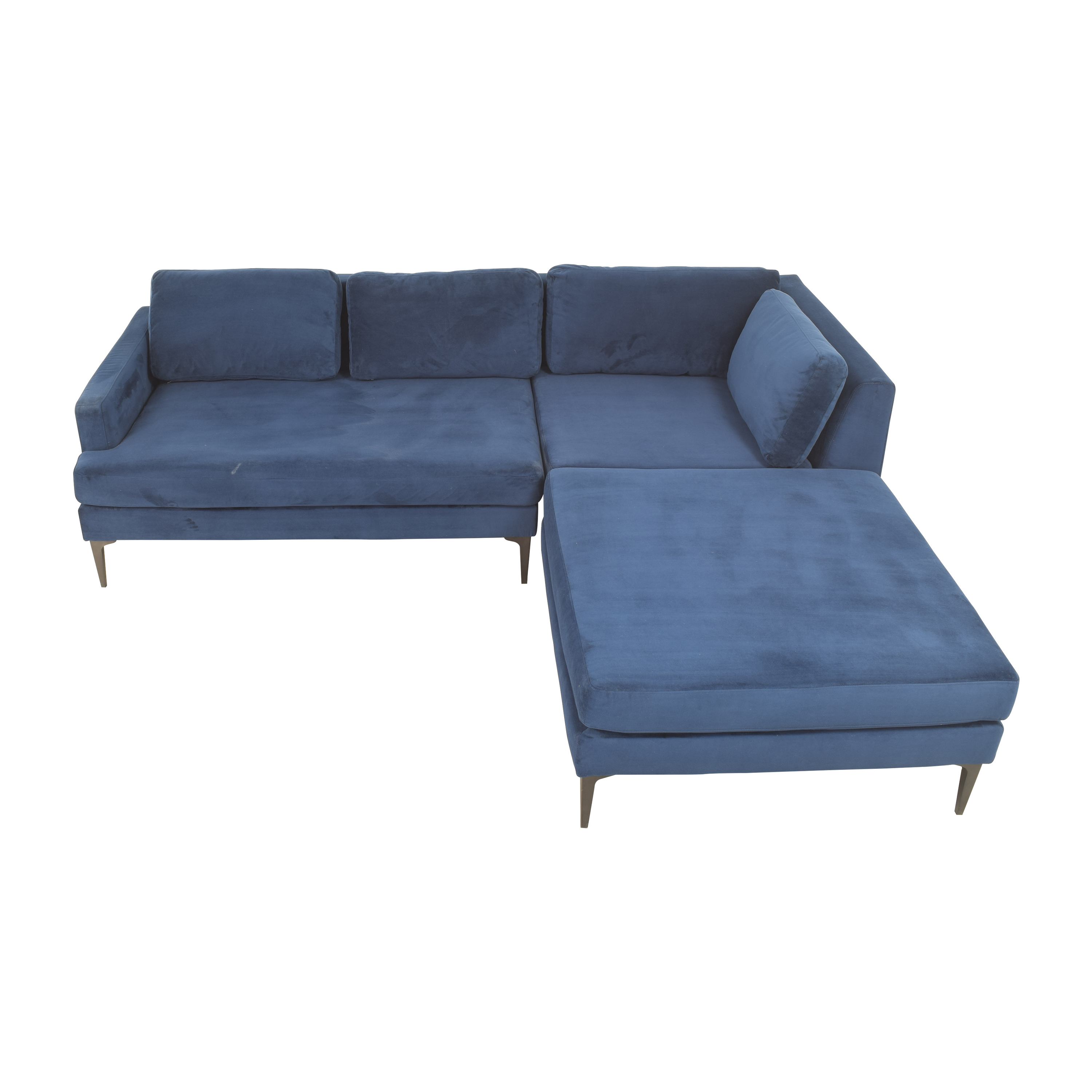 West Elm West Elm Andes 3-Piece Chaise Sectional coupon