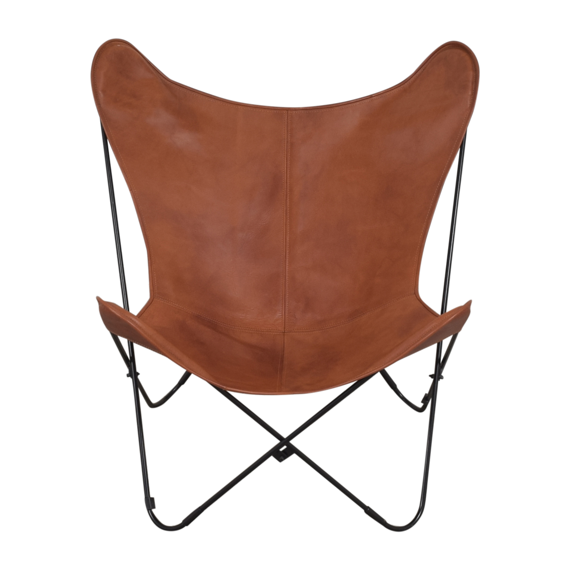 The Citizenry The Citizenry Palermo Accent Chair brown and black