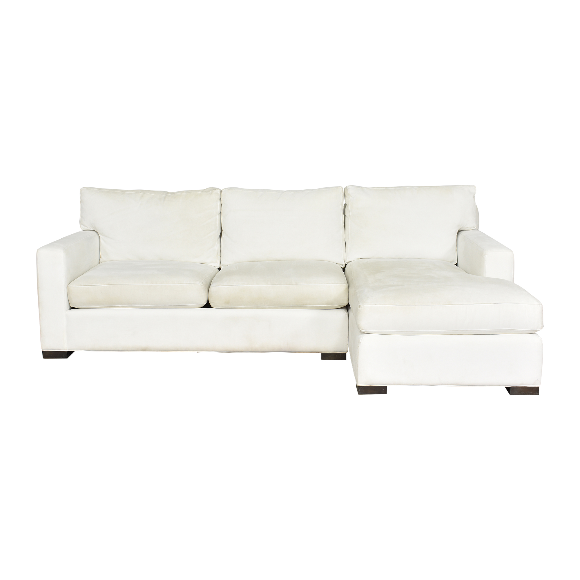 Crate & Barrel Crate & Barrel Axis II Chaise Sectional Sofa pa
