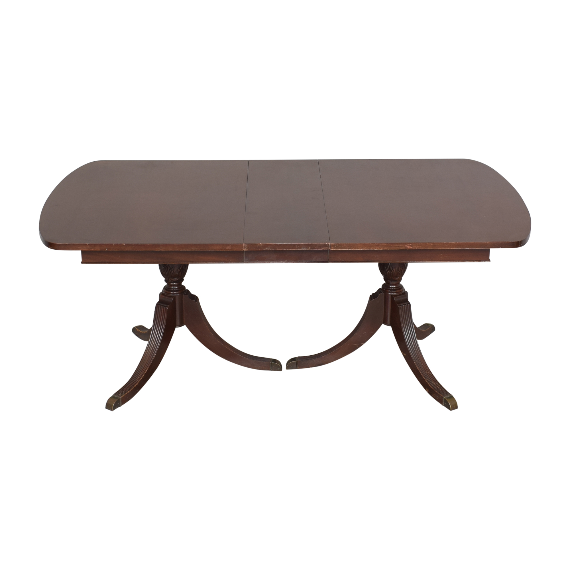 Finch Fine Furniture Double Pedestal Dining Table / Dinner Tables