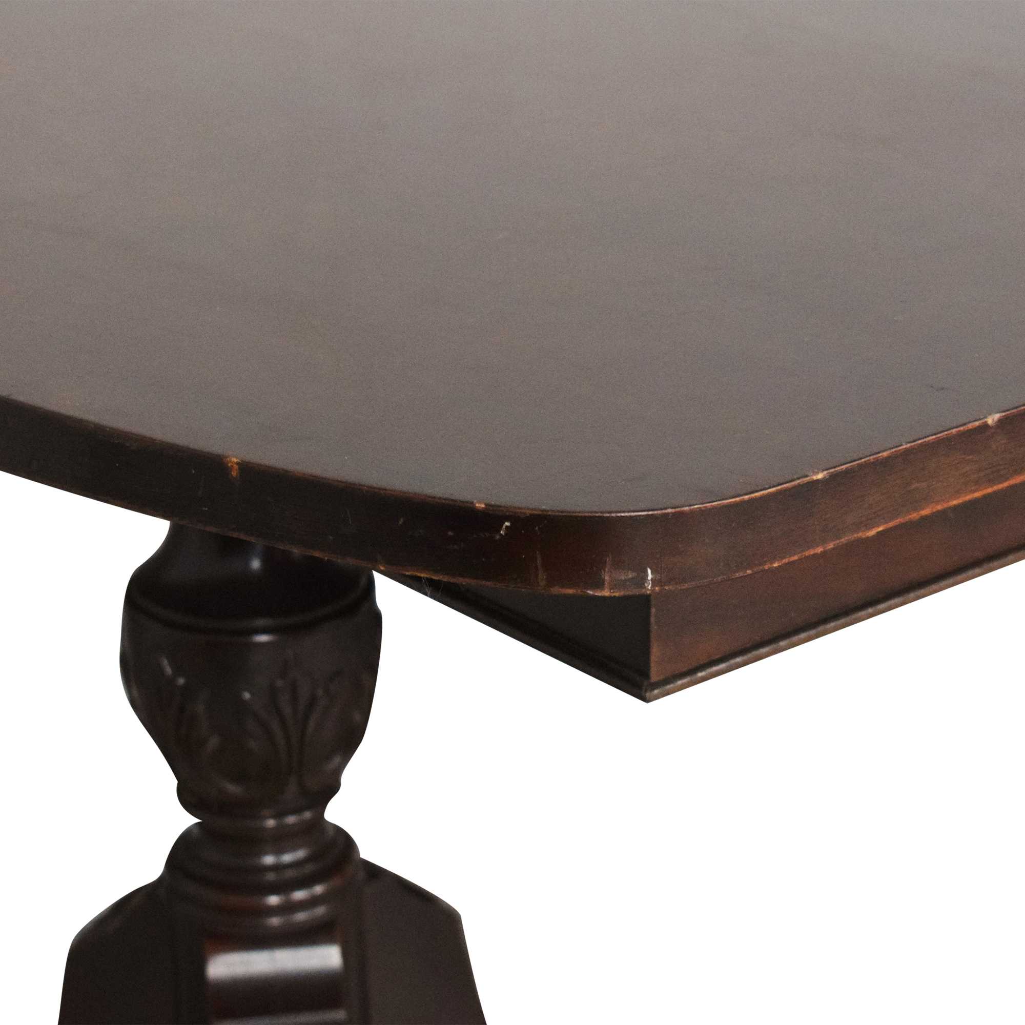 Finch Fine Furniture Finch Fine Furniture Double Pedestal Dining Table ma