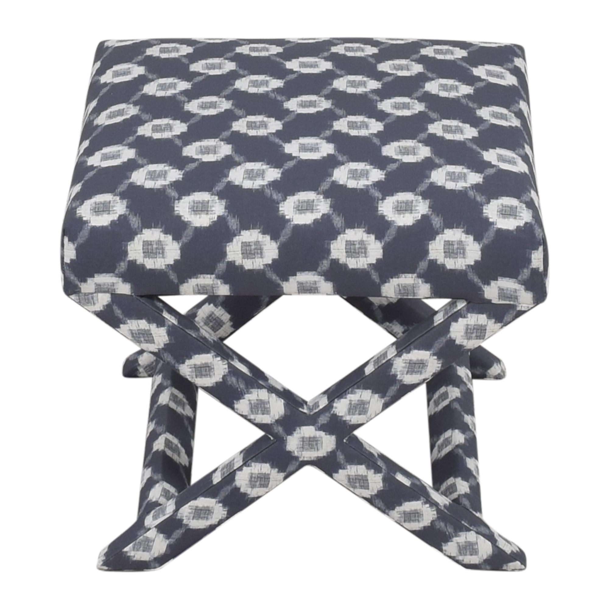 buy The Inside The Inside Lattice Shibori X Bench online