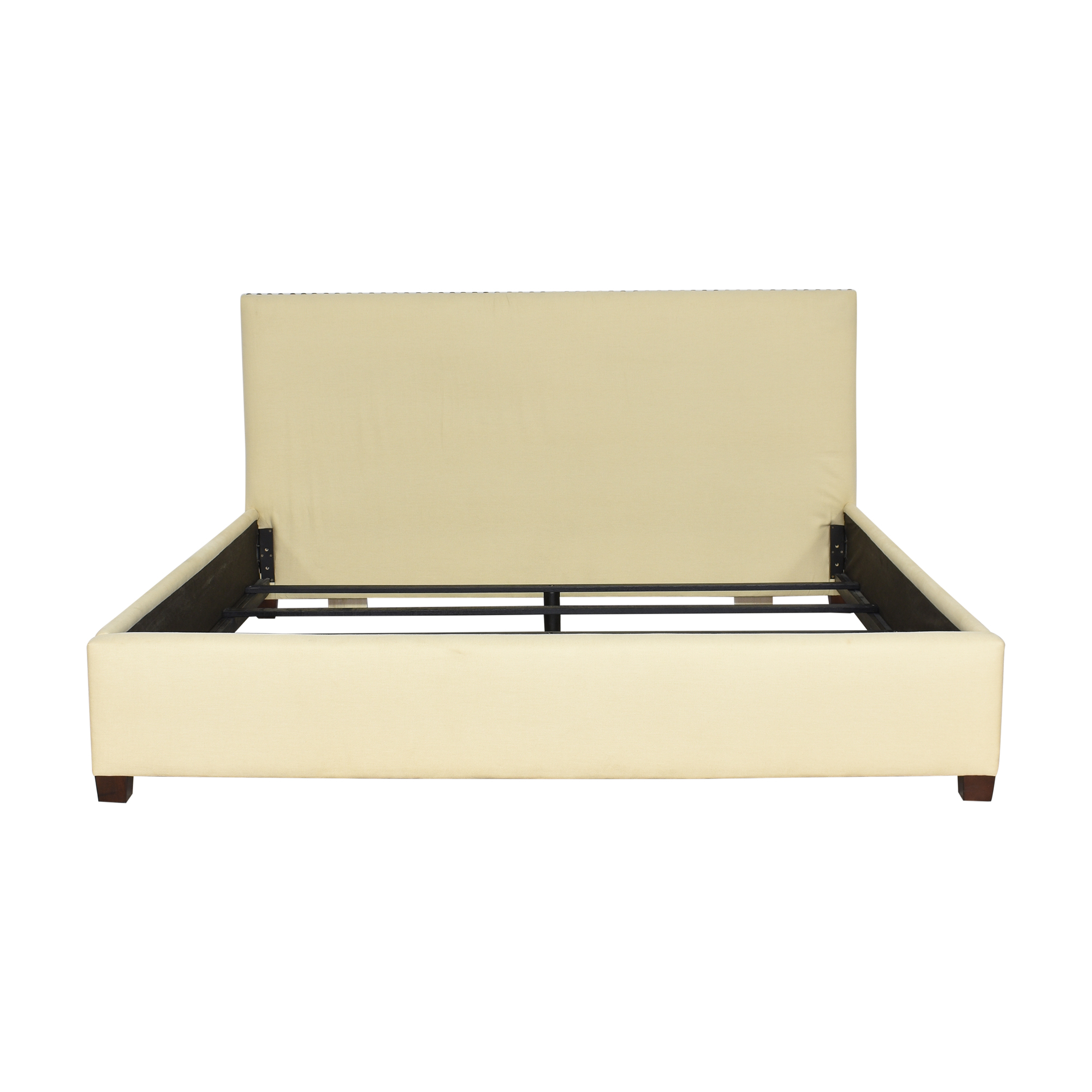 Pottery Barn Pottery Barn Raleigh Square Upholstered Low King Bed coupon