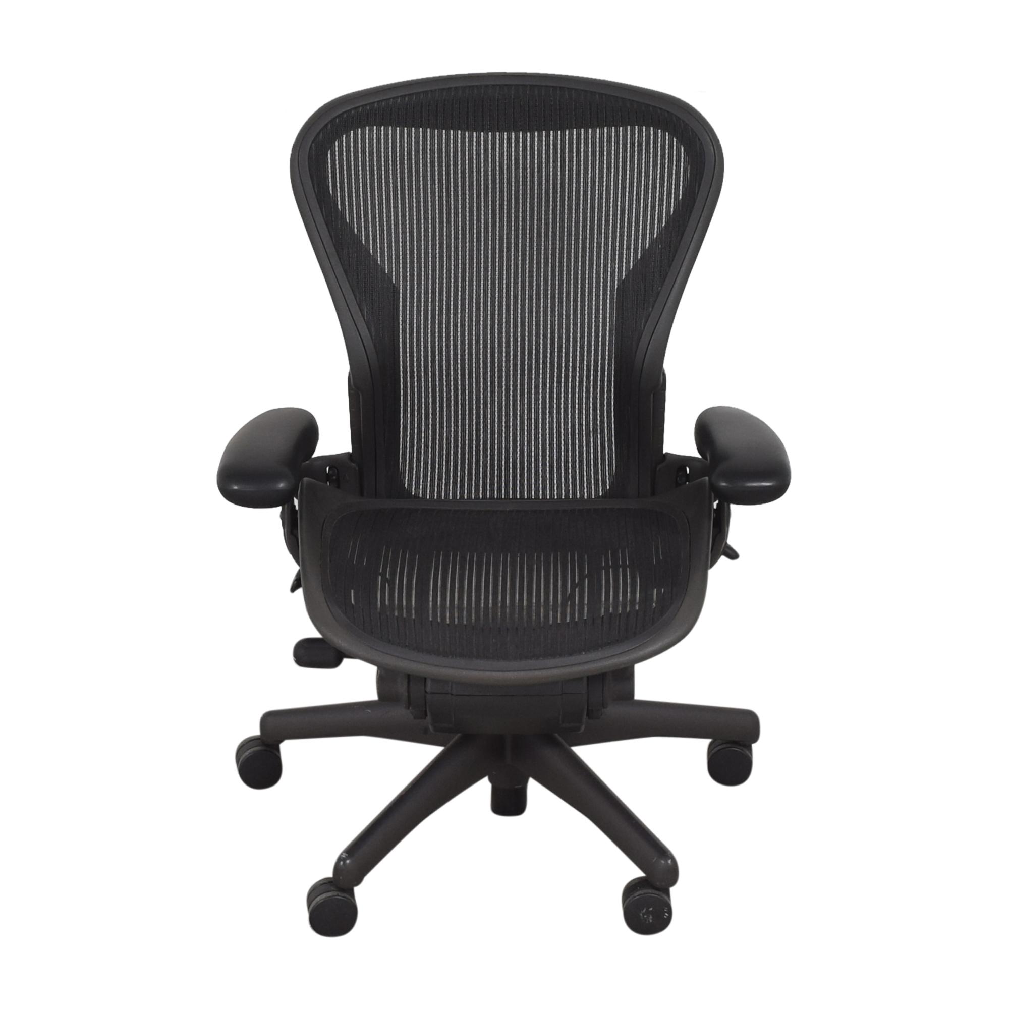 Herman Miller Aeron Size B Swivel Desk Chair Herman Miller